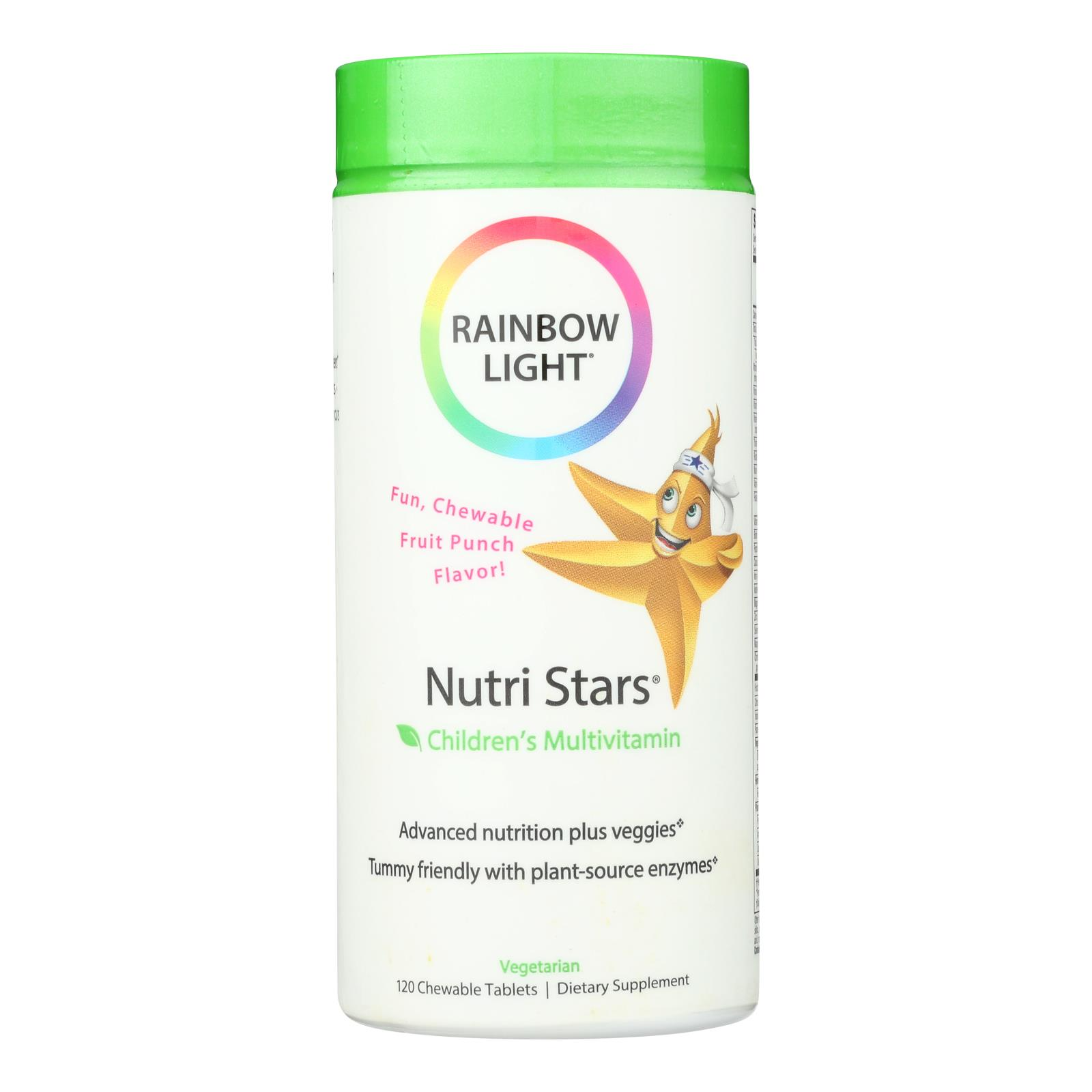 Rainbow Light NutriStars Delicious Fruit Blast - 120 Chewable Tablets