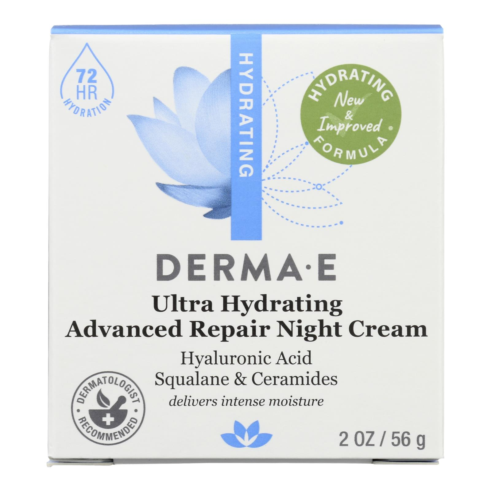 Derma E - Hyaluronic Acid Night Creme - 2 oz.
