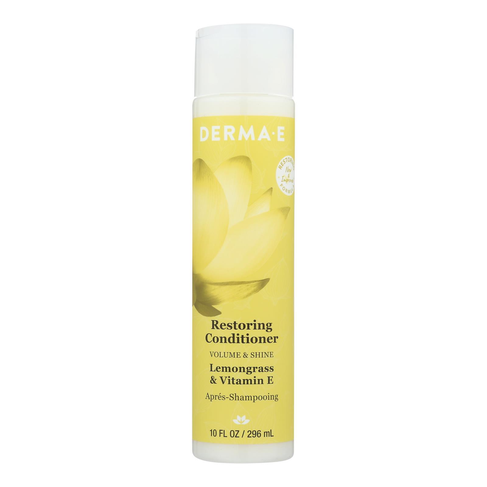 Derma-E Restoring Conditioner, Lemongrass & Vitamin E  - 1 Each - 10 FZ