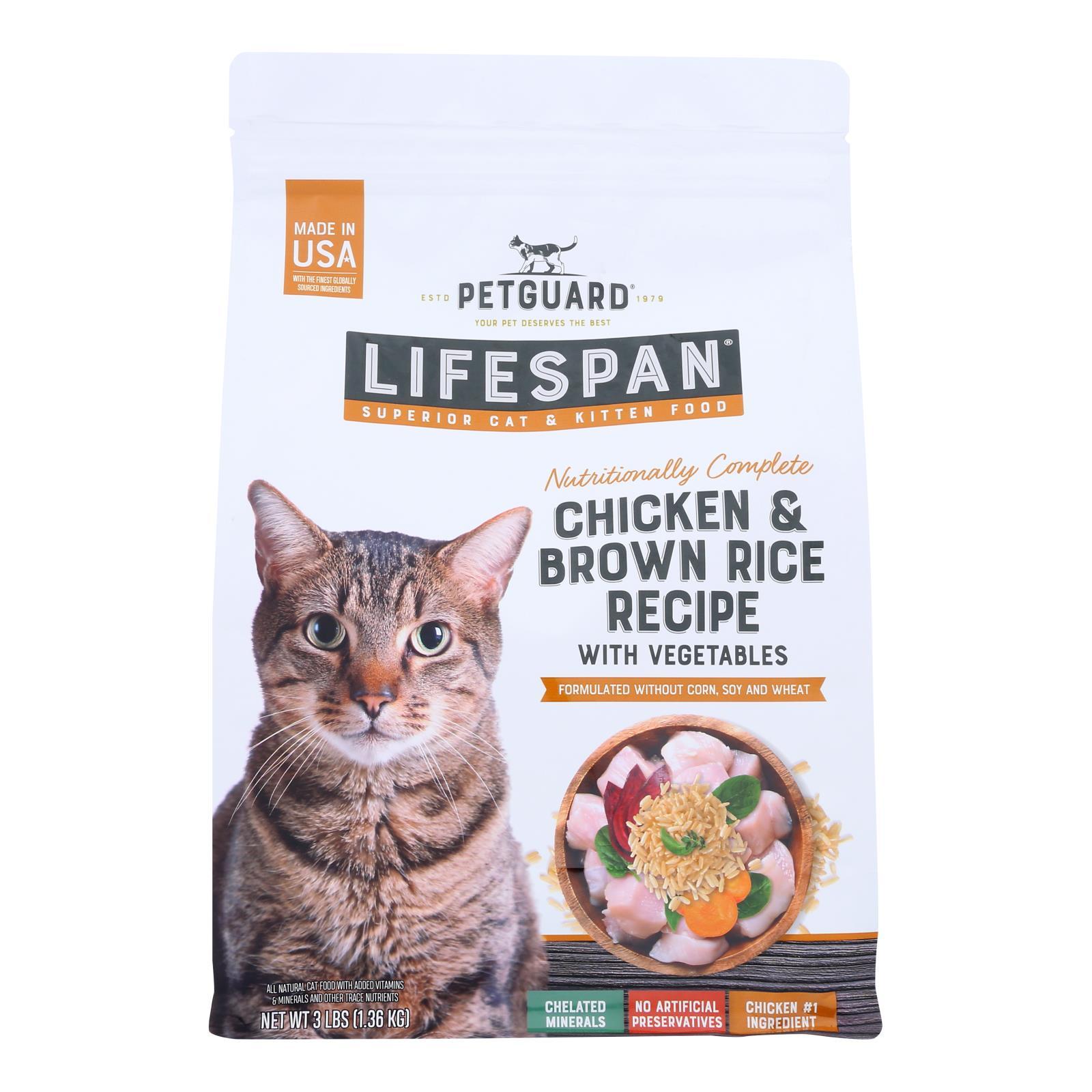 Petguard - Cat/kitten Prem Dry Chicken - 1 Each - 3 LB