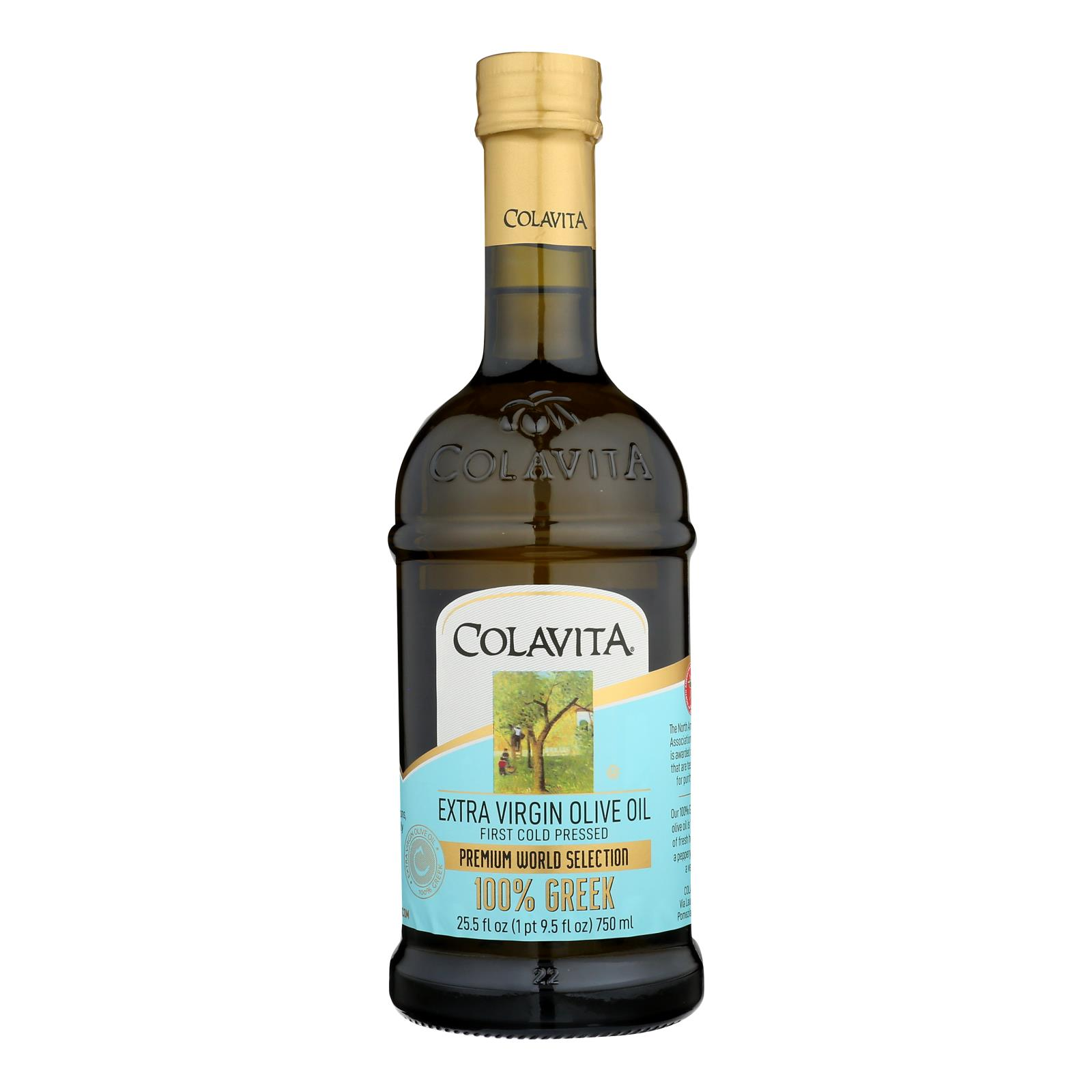 Colavita - Olive Oil - Greek - Case of 6 - 25.5 fl oz