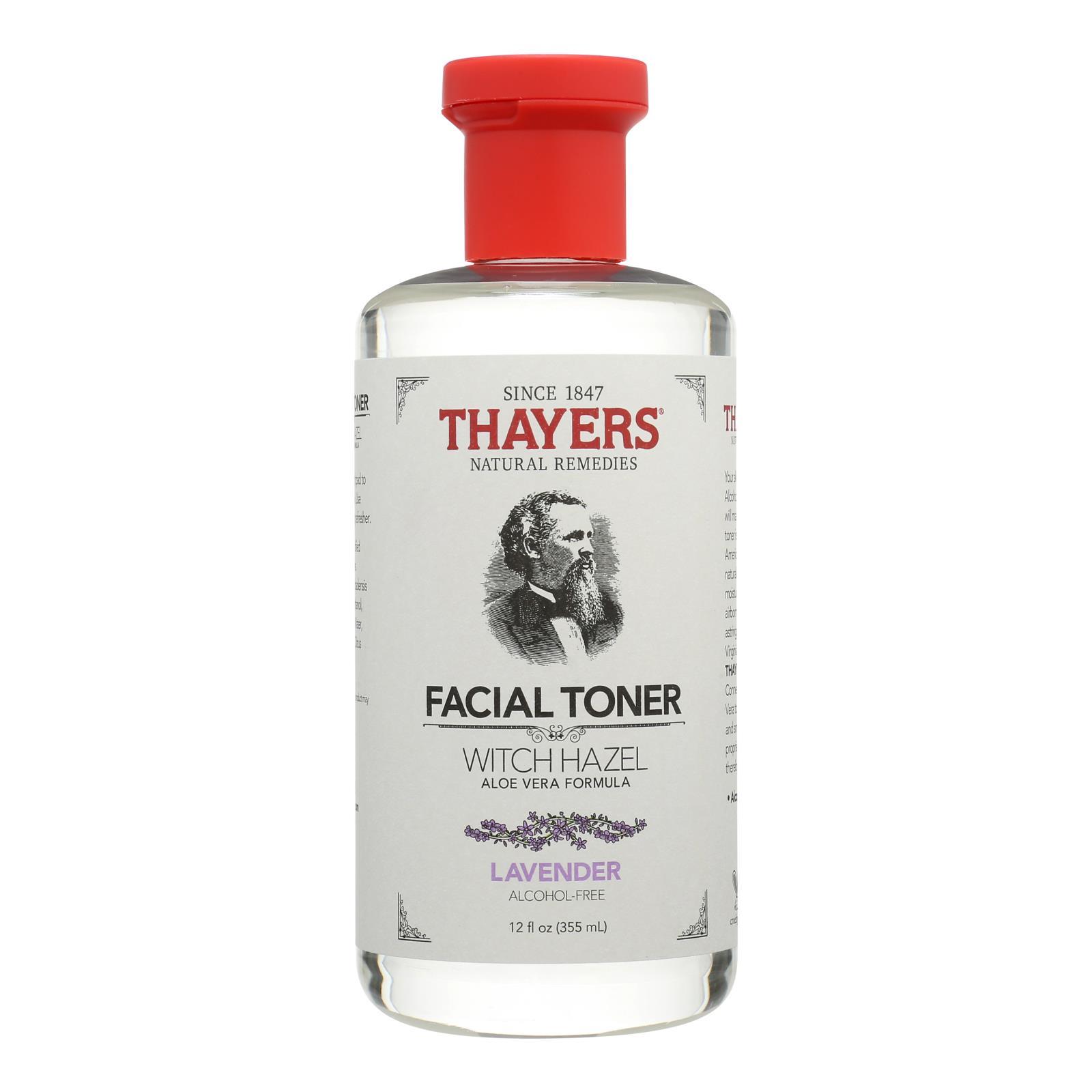 Thayers Witch Hazel with Aloe Vera Lavender - 12 fl oz
