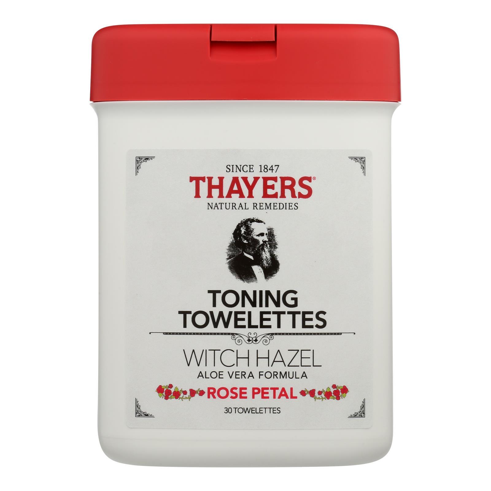 Thayers - Toner Twlttes Rose Petal - 1 Each - 30 CT