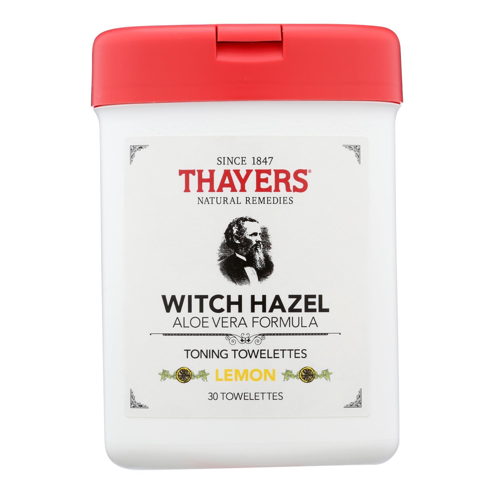 Thayers - Toner Twlttes Lemon - 1 Each - 30 CT