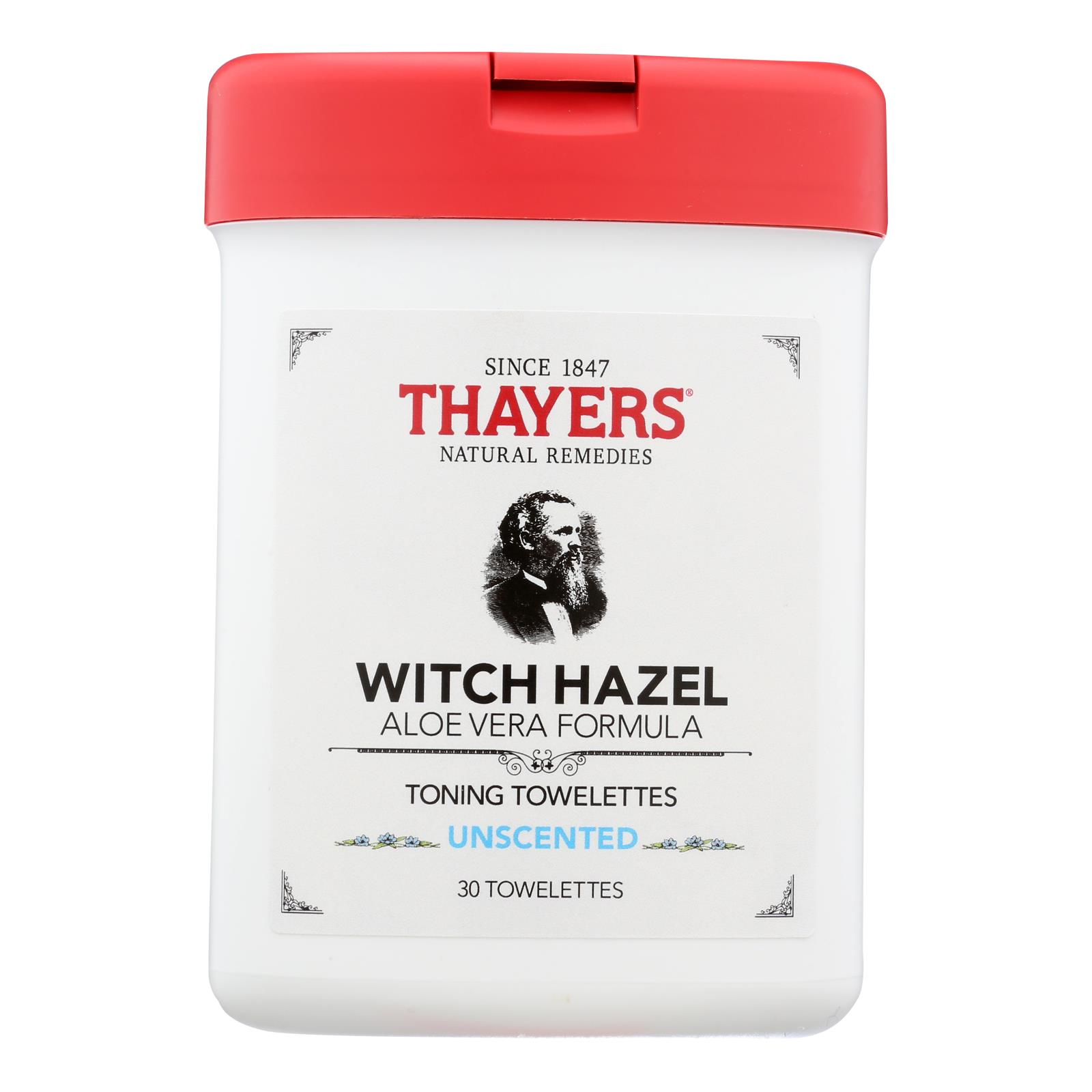 Thayers - Toner Twlttes Unscented - 1 Each - 30 CT