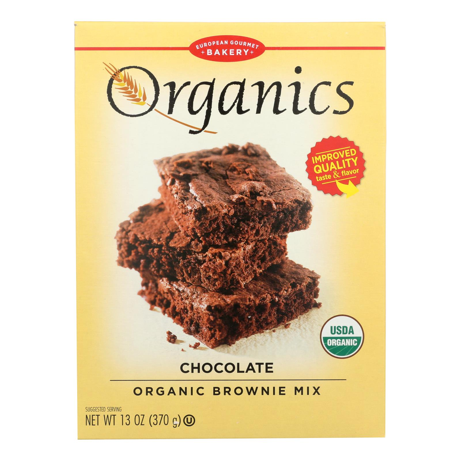 European Gourmet Bakery - Brownie Mix Chocolate - Case of 6-13 OZ