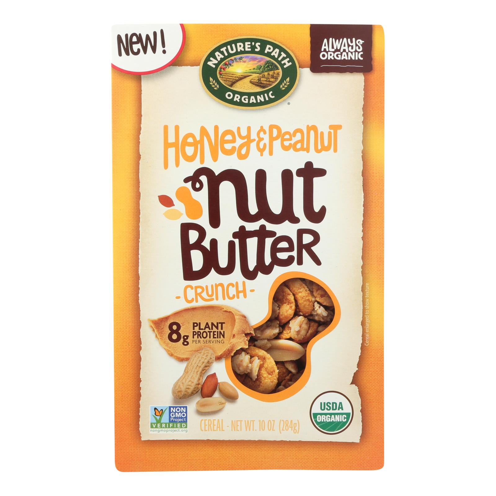 Nature's Path - Cereal Hny Nt Butter Crh - Case of 6 - 10 OZ