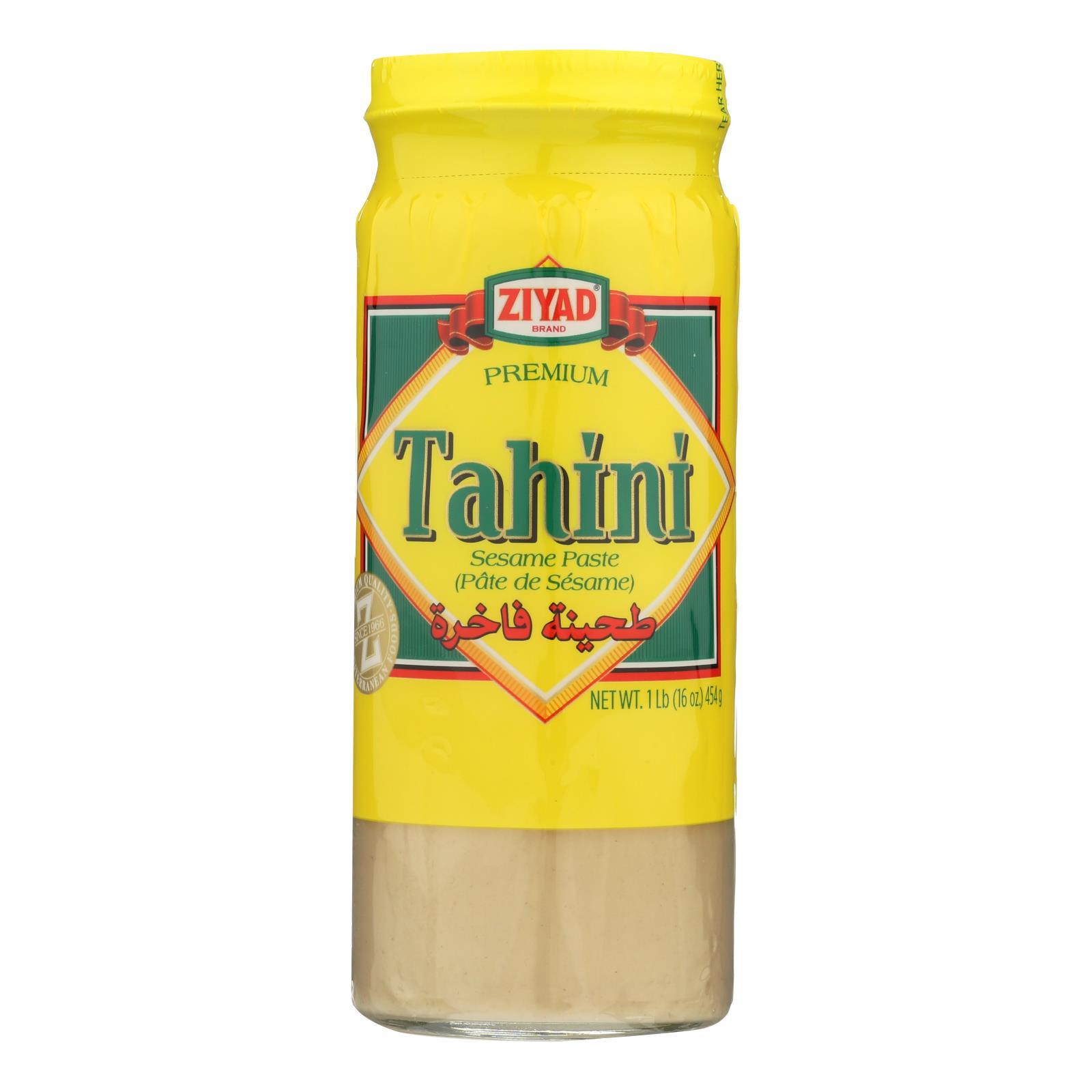 Ziyad Brand Tahini - Sesame Paste - Case of 6 - 16 oz.