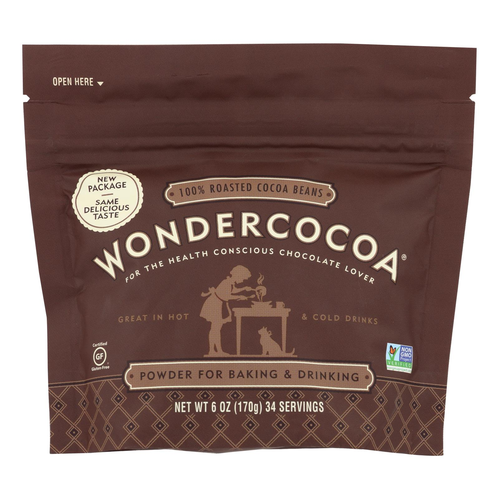 Wondercocoa - Wondercocoa Cocoa Powder - Case of 6 - 6 OZ