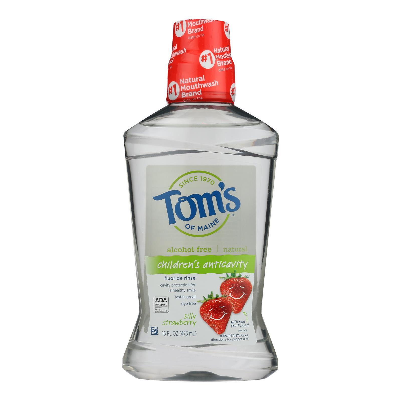 Tom's Of Maine - Kids Rinse Flrd Straw - 1 Each - 16 OZ