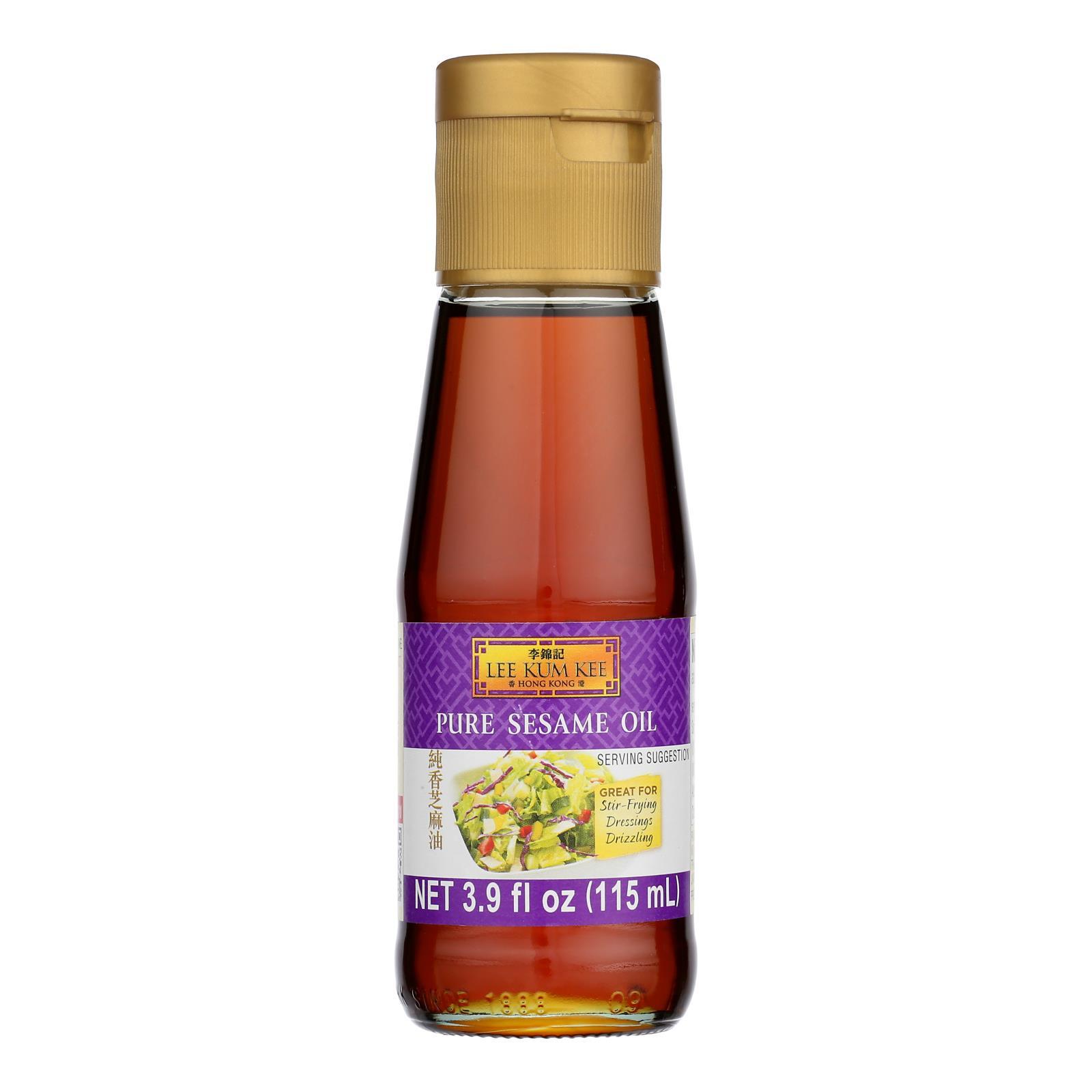 Lee Kum Kee Pure Sesame Oil - Case of 12 - 3.9 FZ
