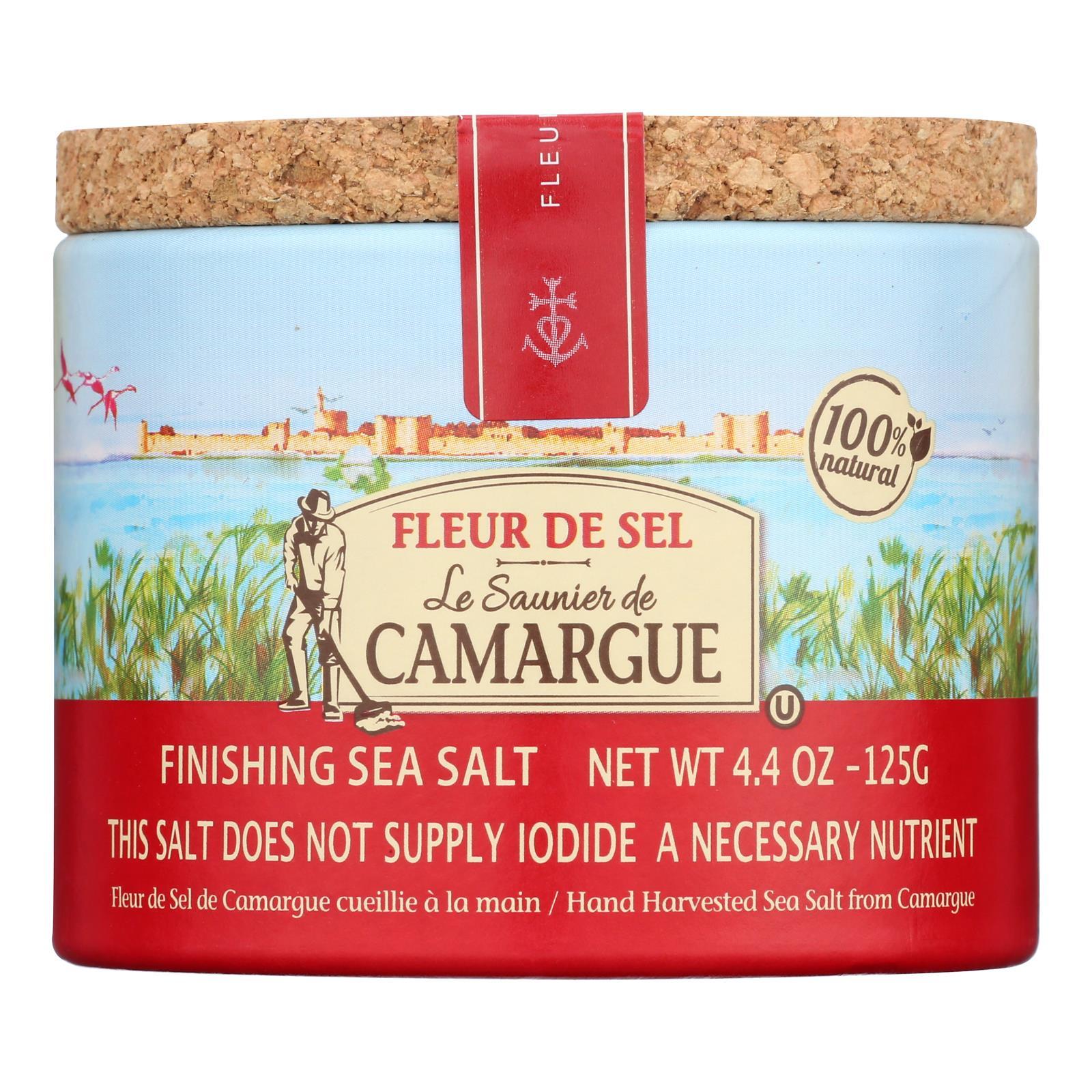 Le Saunier De Camargue French Sea Salt - Fleur De Sel - Case of 6 - 125 Gram