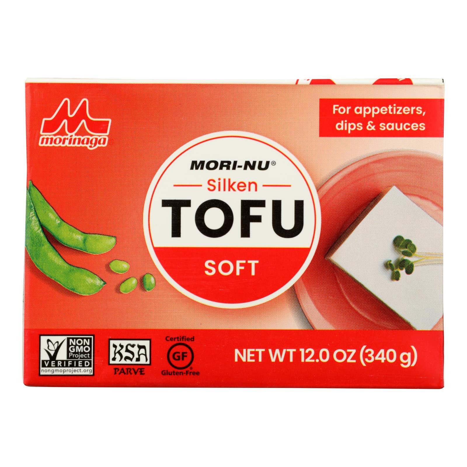 Mori-Nu Soft Silken Tofu - Tetra - Case of 12 - 12 oz.