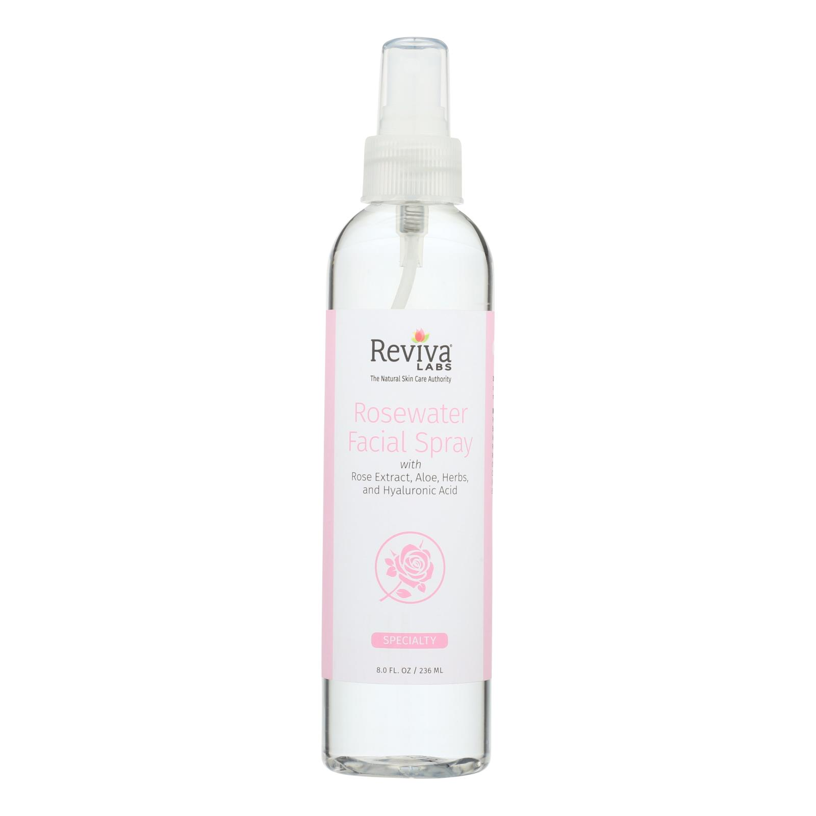 Reviva Labs - Facial Spray Rosewater - 8 fl oz