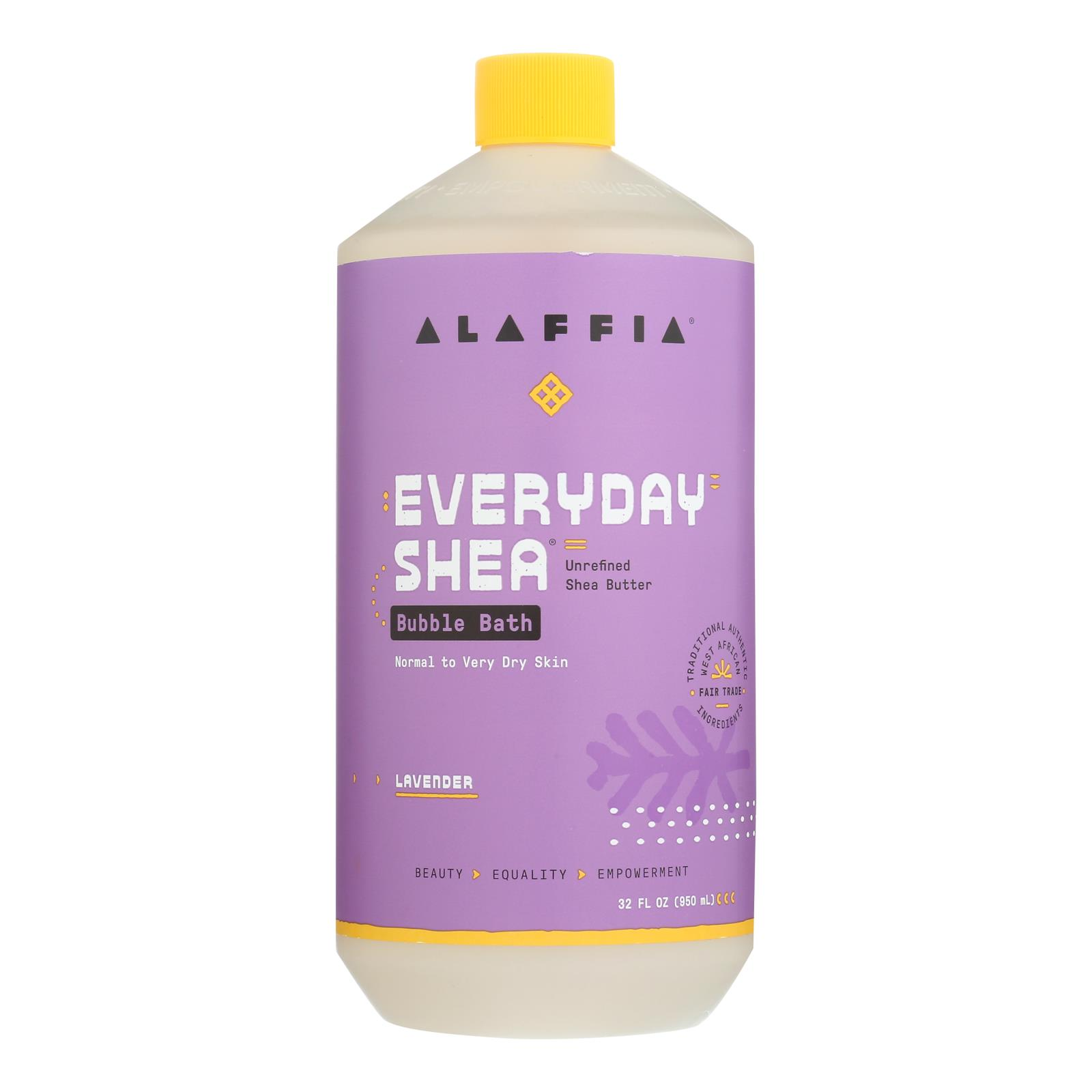 Alaffia - Everyday Bubble Bath - Lavender - 32 fl oz.