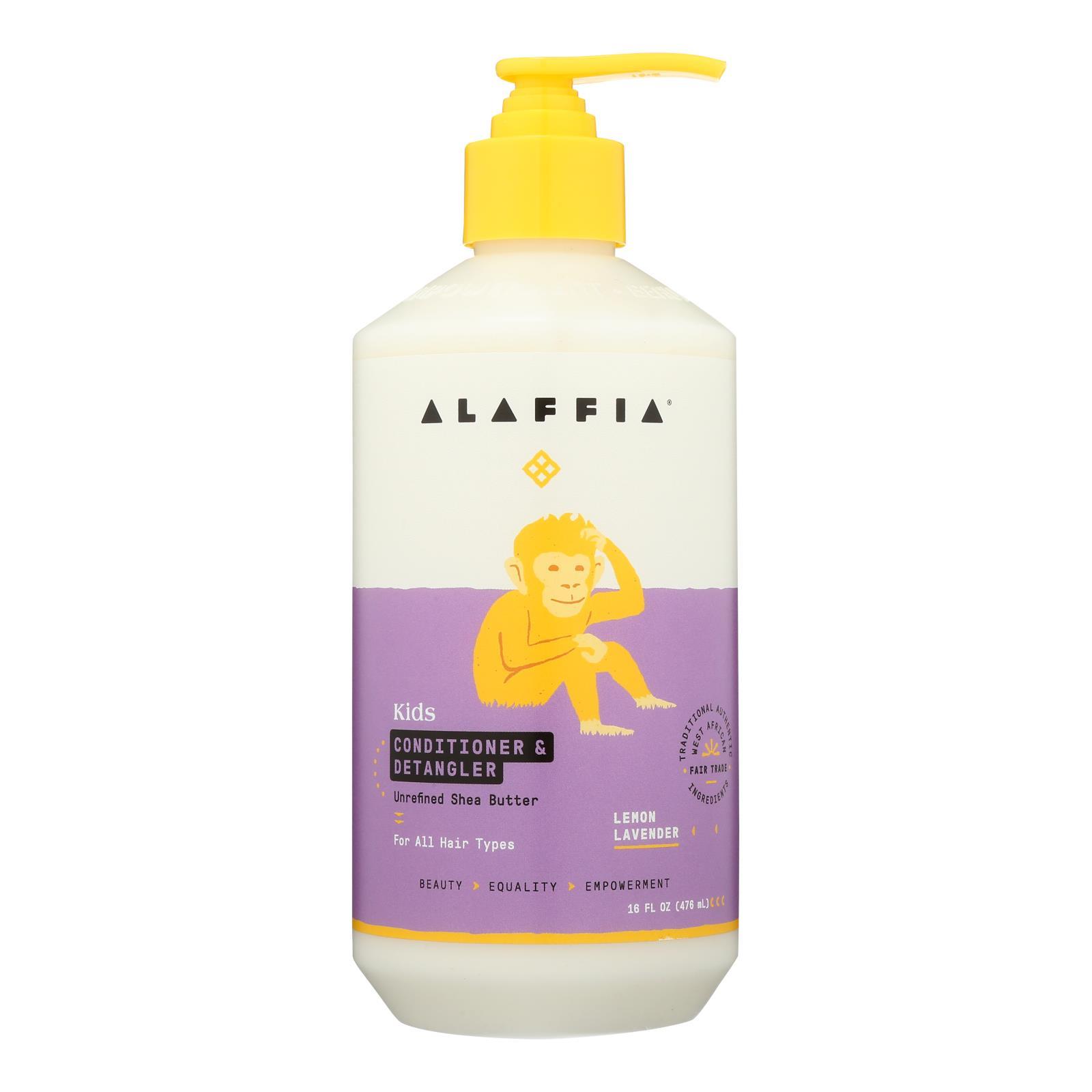 Alaffia - Everyday Conditioner and Detangler - Lemon Lavender - 16 fl oz.