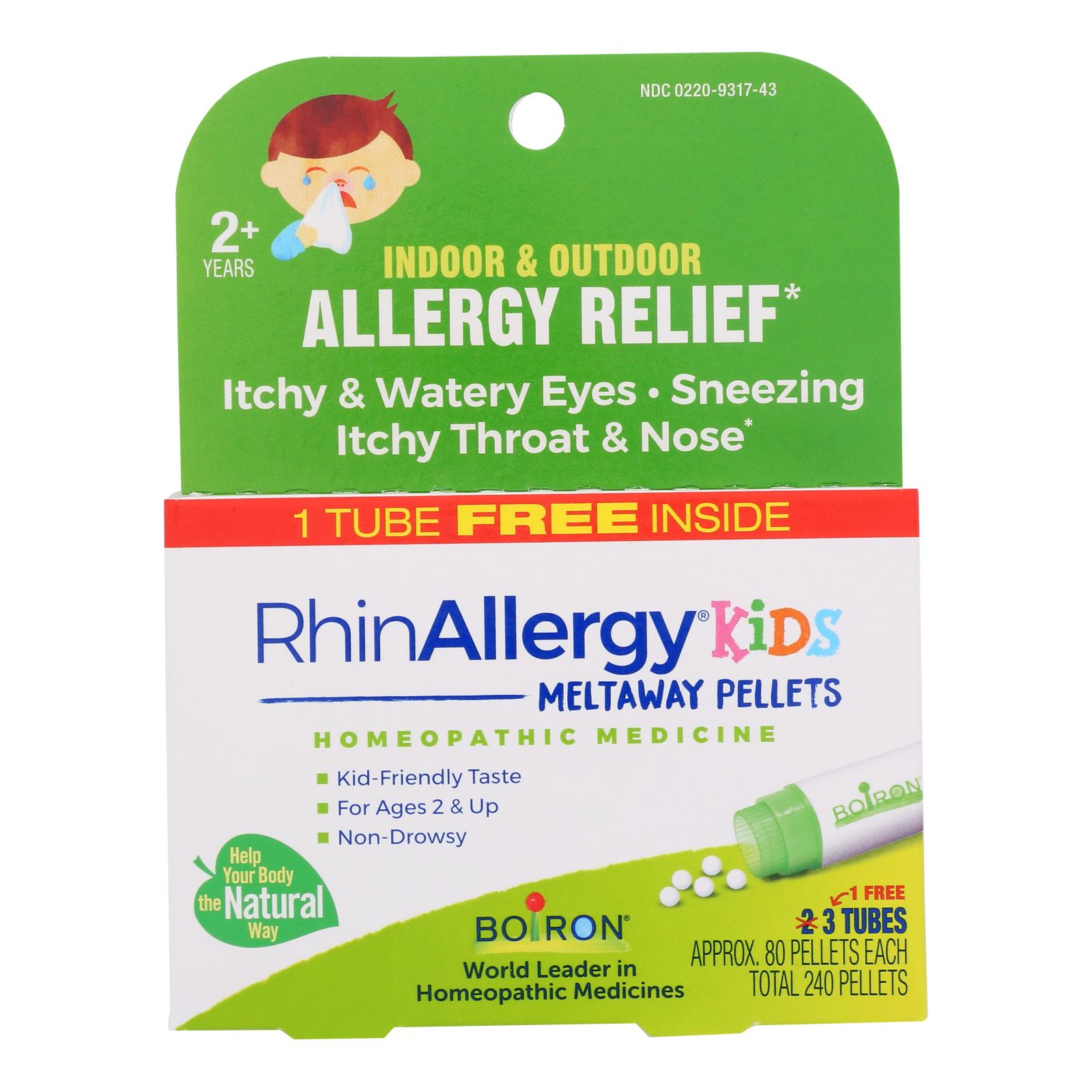 Boiron - Rhinallergy Kds Pellets - 3 CT