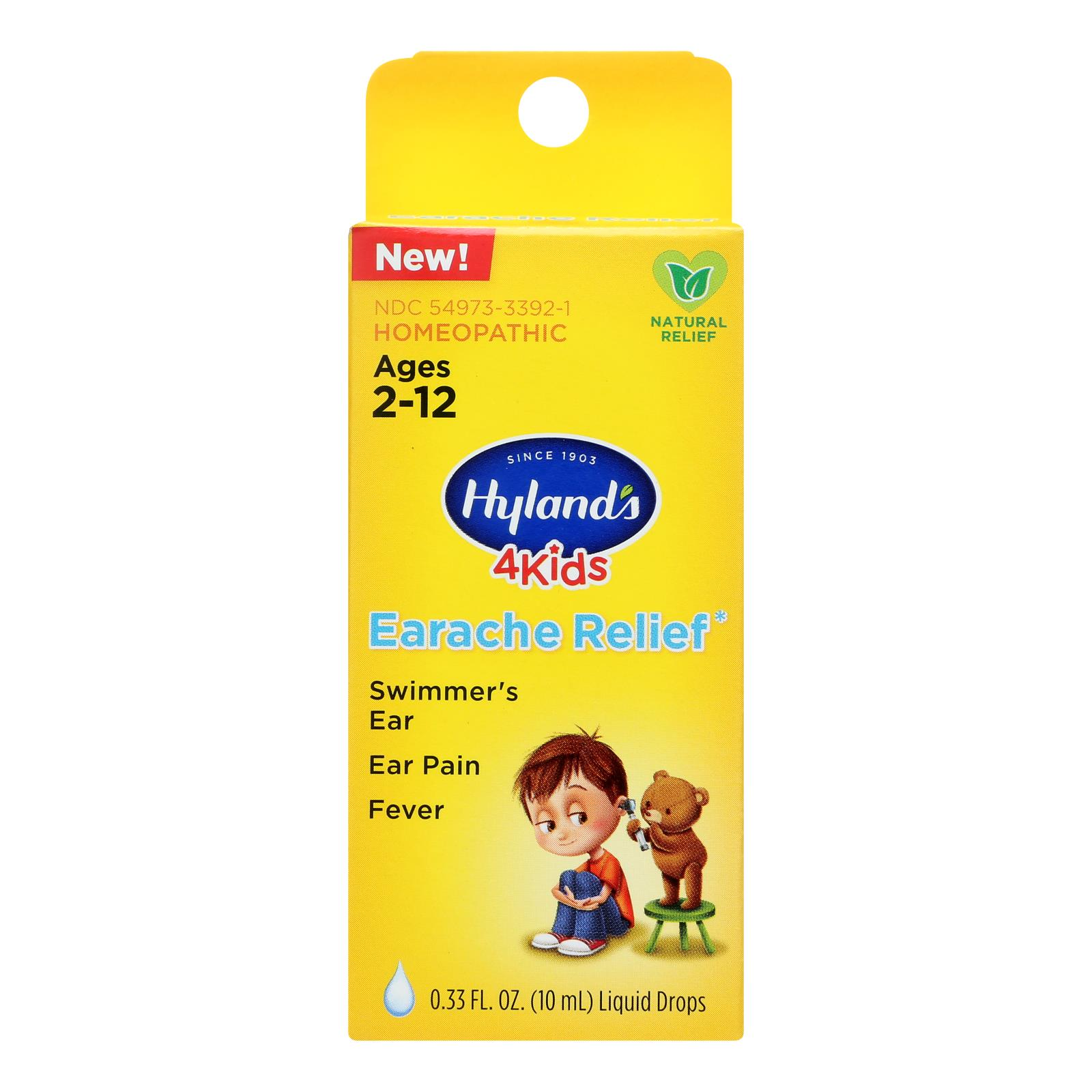 Hylands Homeopathic - 4kids Hmpthc Erch Rlf Drp - 1 Each - .33 OZ