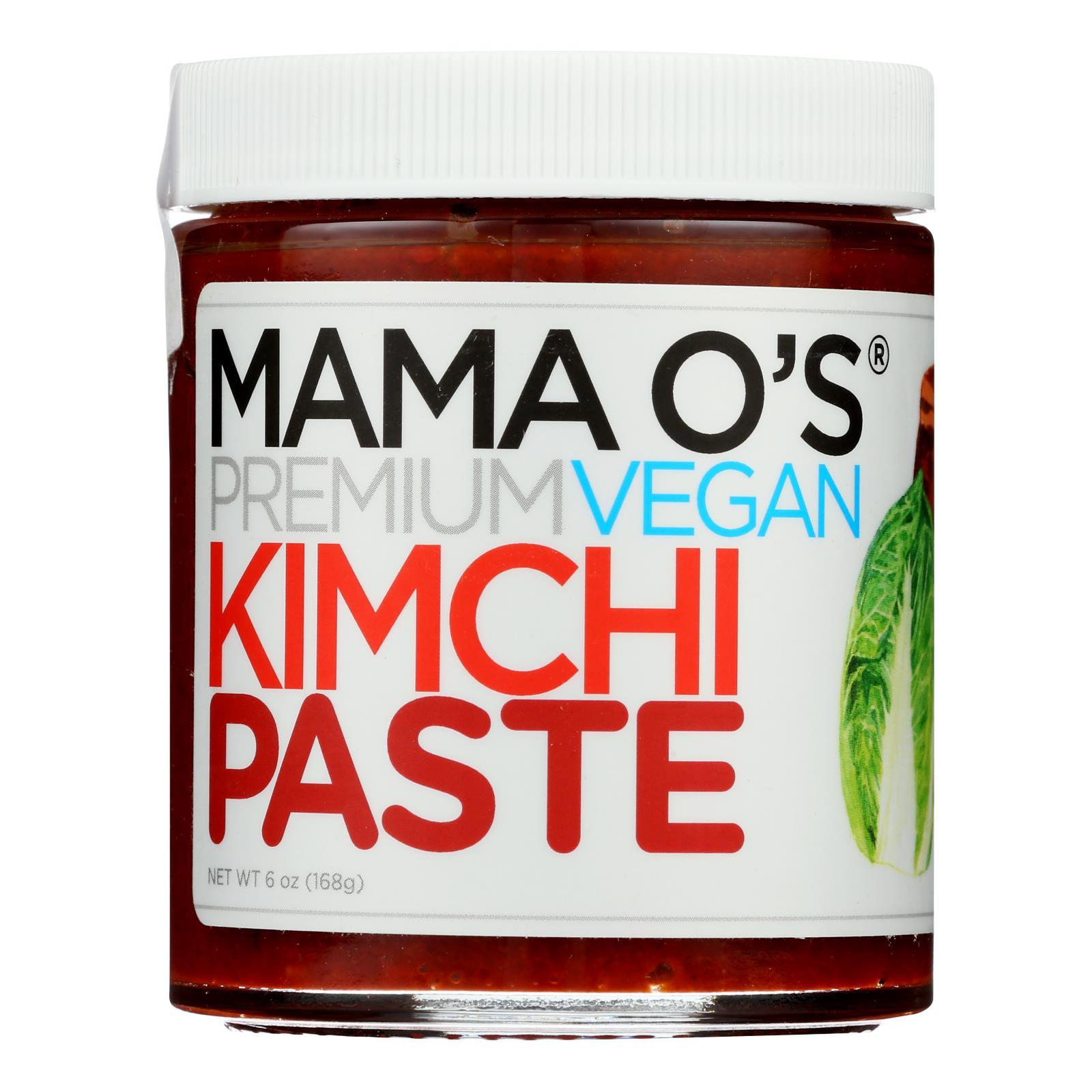 Mama O's Premium Kimchi - Paste Vegan Prem Kimchi - Case of 6 - 6 OZ