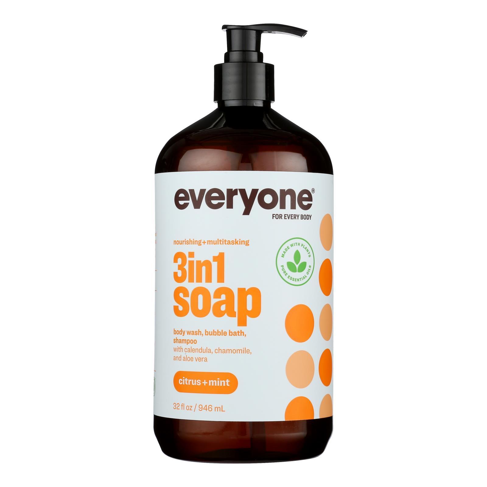 EO Products - EveryOne Liquid Soap Citrus and Mint - 32 fl oz