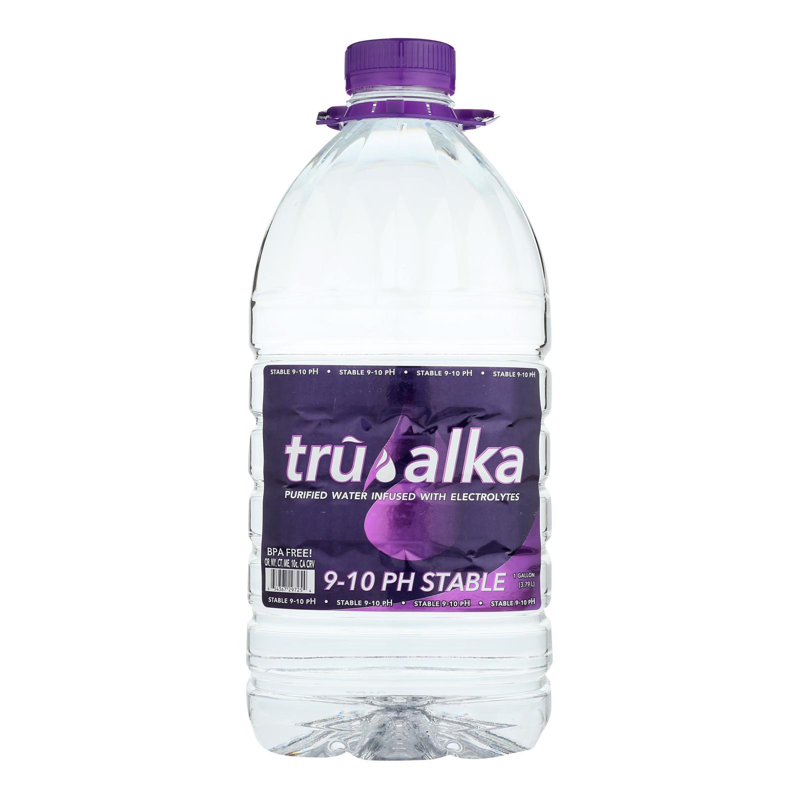 Tru Alka Stable 9-10 Ph Alkaline Water  - Case of 6 - 1 GAL