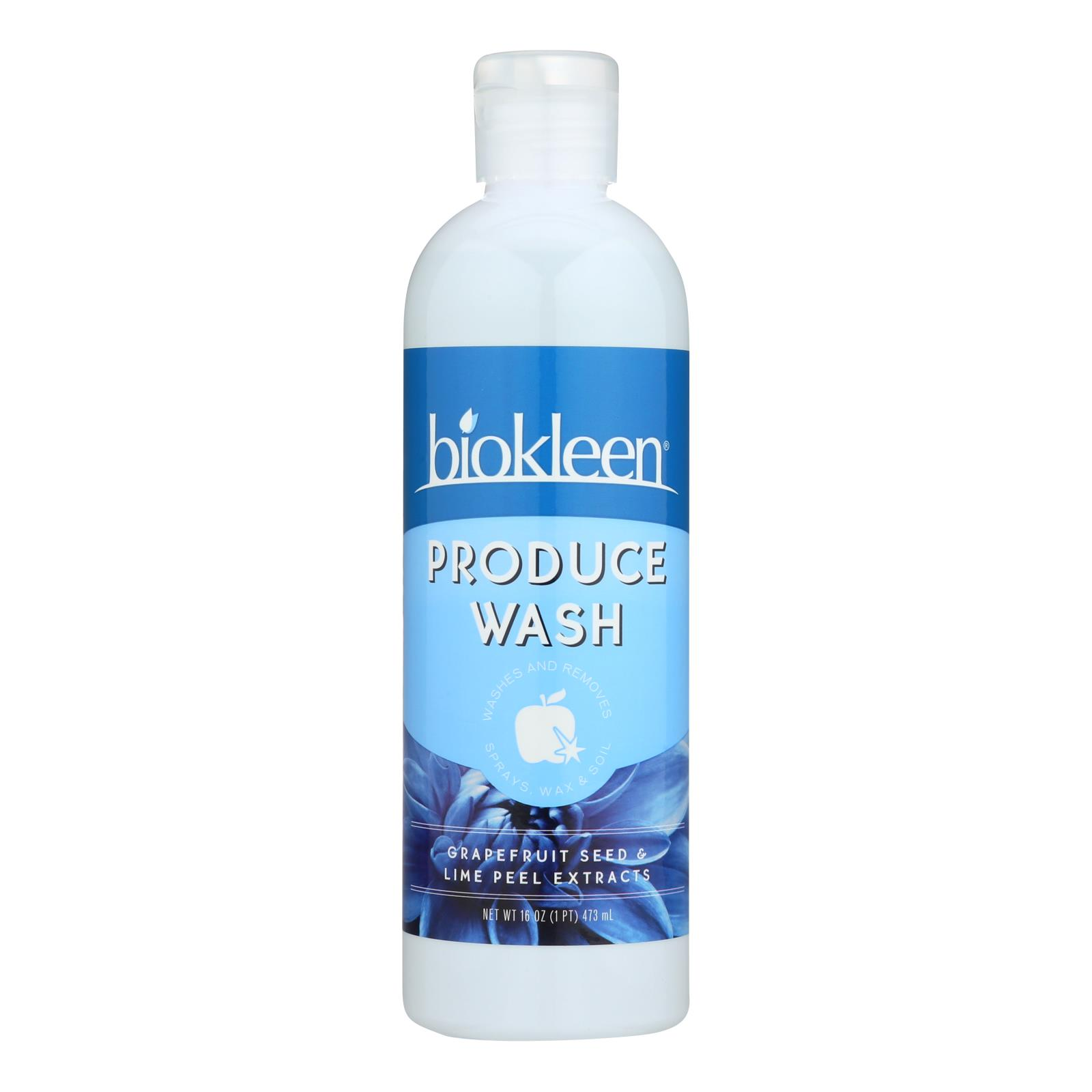 Biokleen - Produce Wash Concentrate - Case of 6-16 FZ