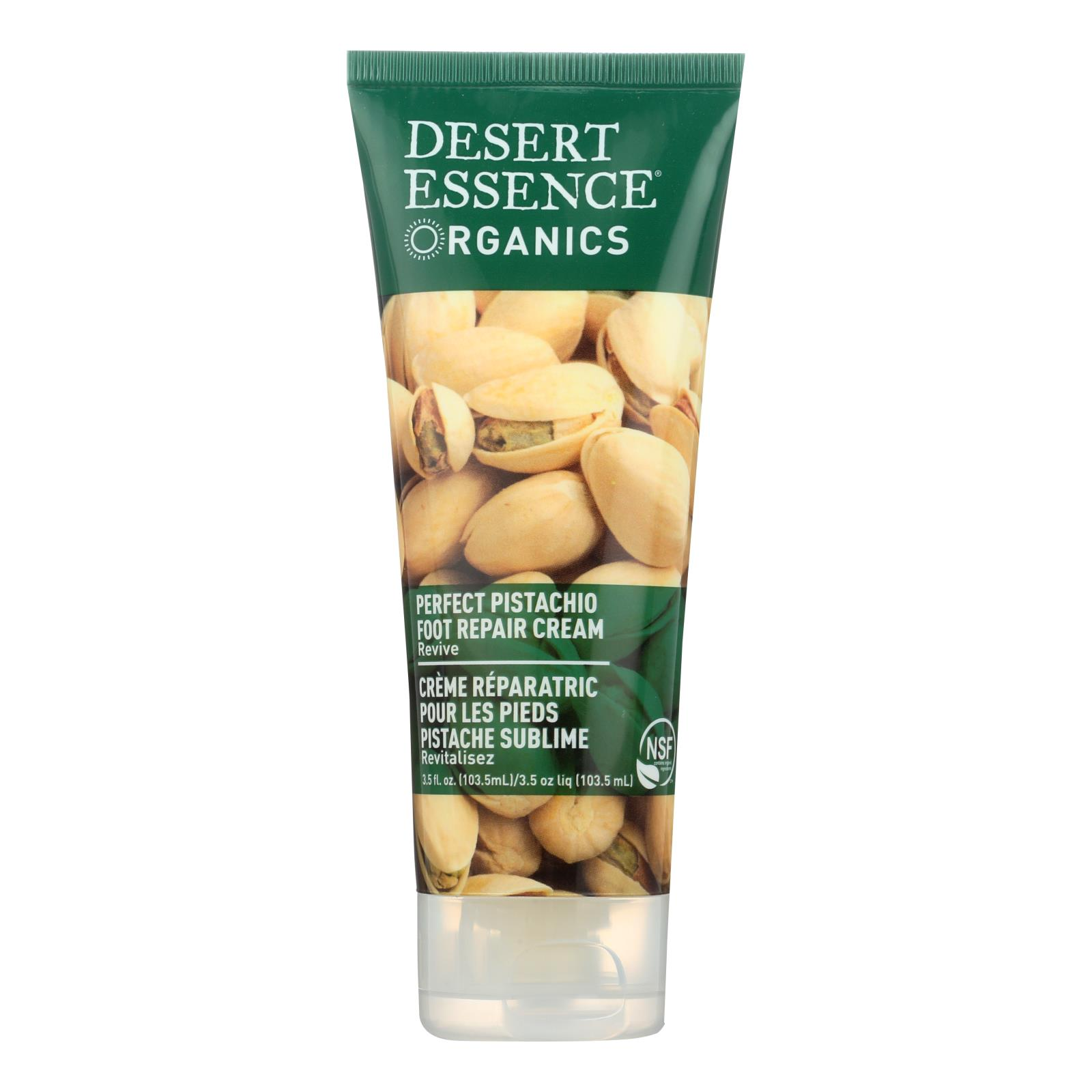 Desert Essence - Foot Repair Cream Pistachio - 3 fl oz