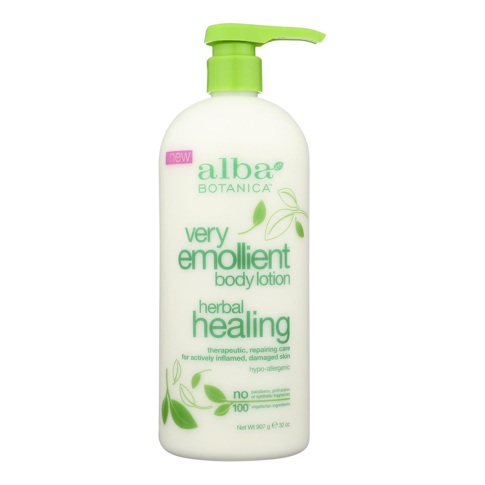 Alba Botanica - Body Lotion - Very Emollient - Herbal - 32 oz