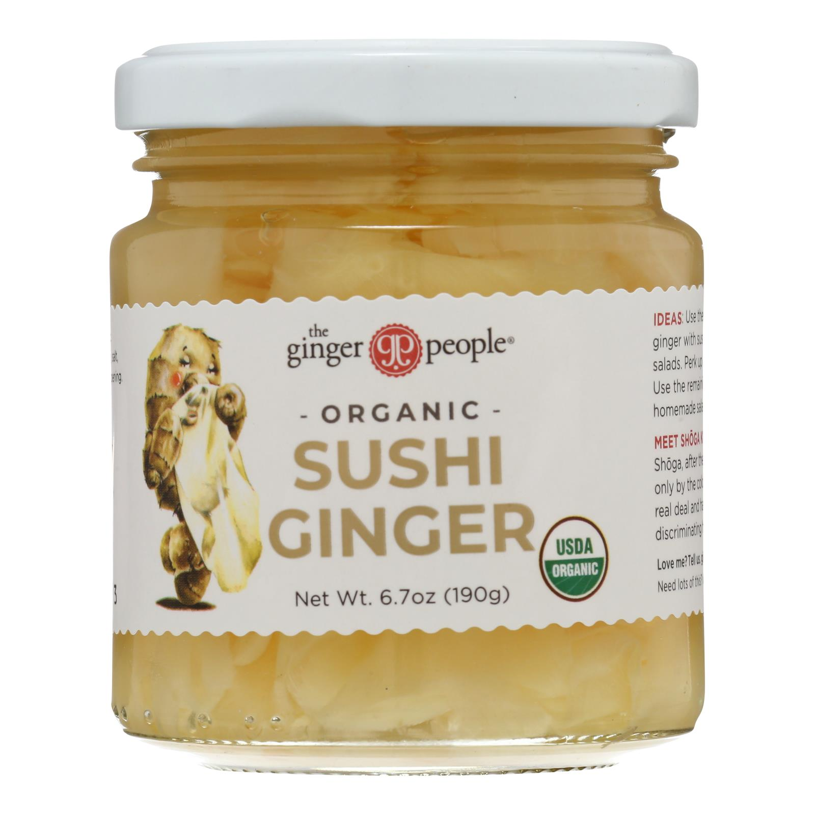 The Ginger People Organic Pickled - Case of 12 - 6.7 oz.