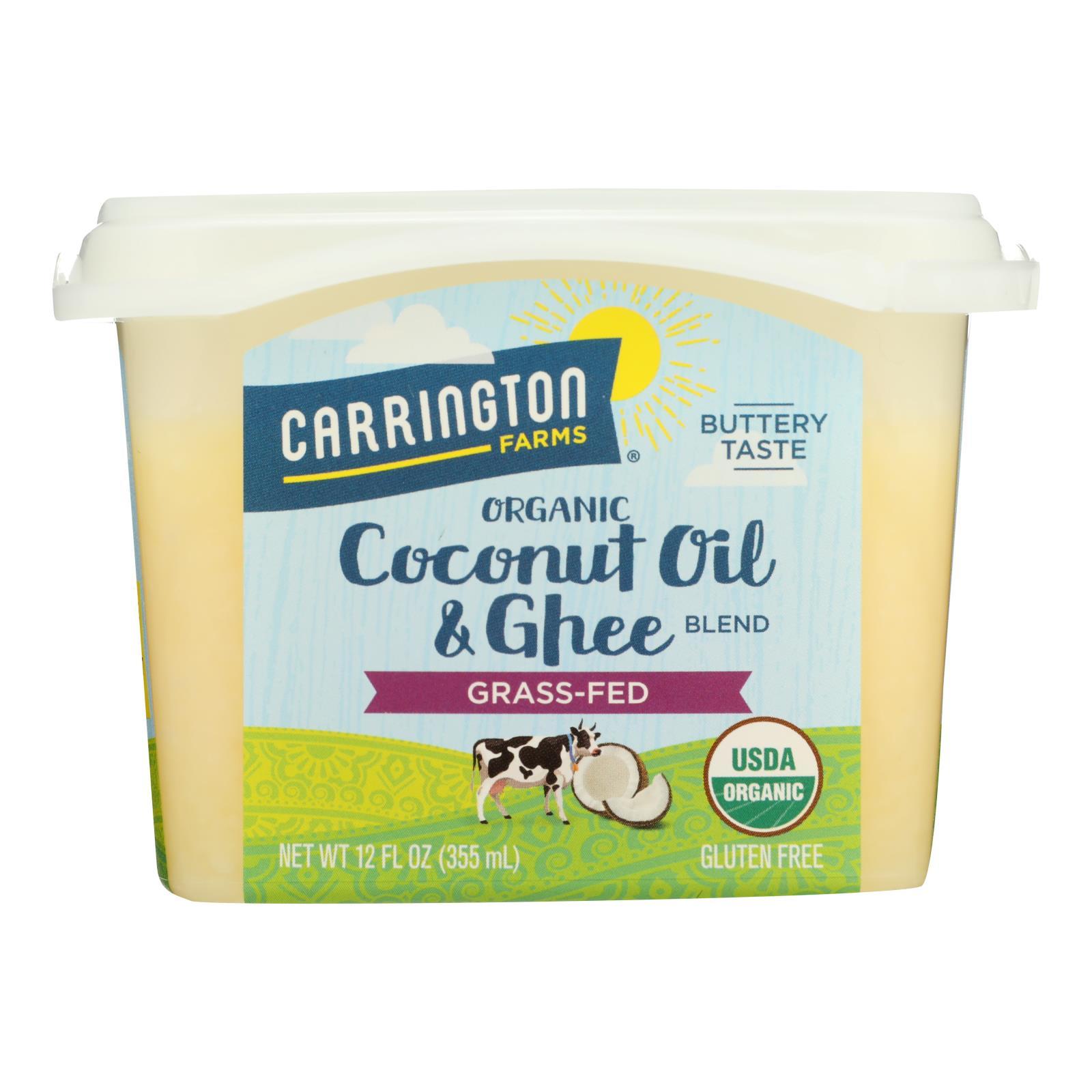 Carrington Farms Coconut Oil - Buttery Taste - Case of 6 - 12 oz.