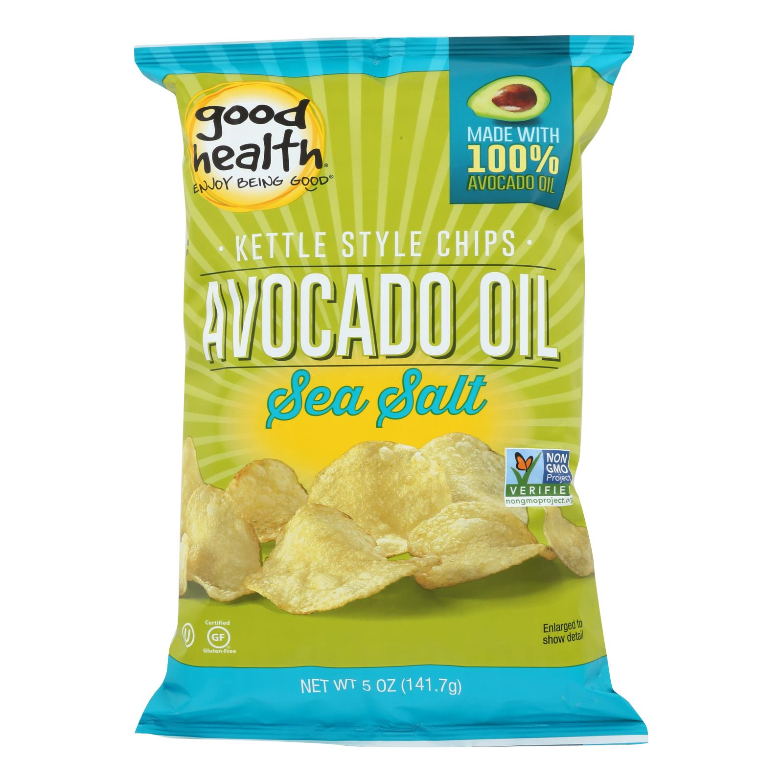 Good Health Avocado Oil - Sea Salt - Case of 12 - 5 oz.