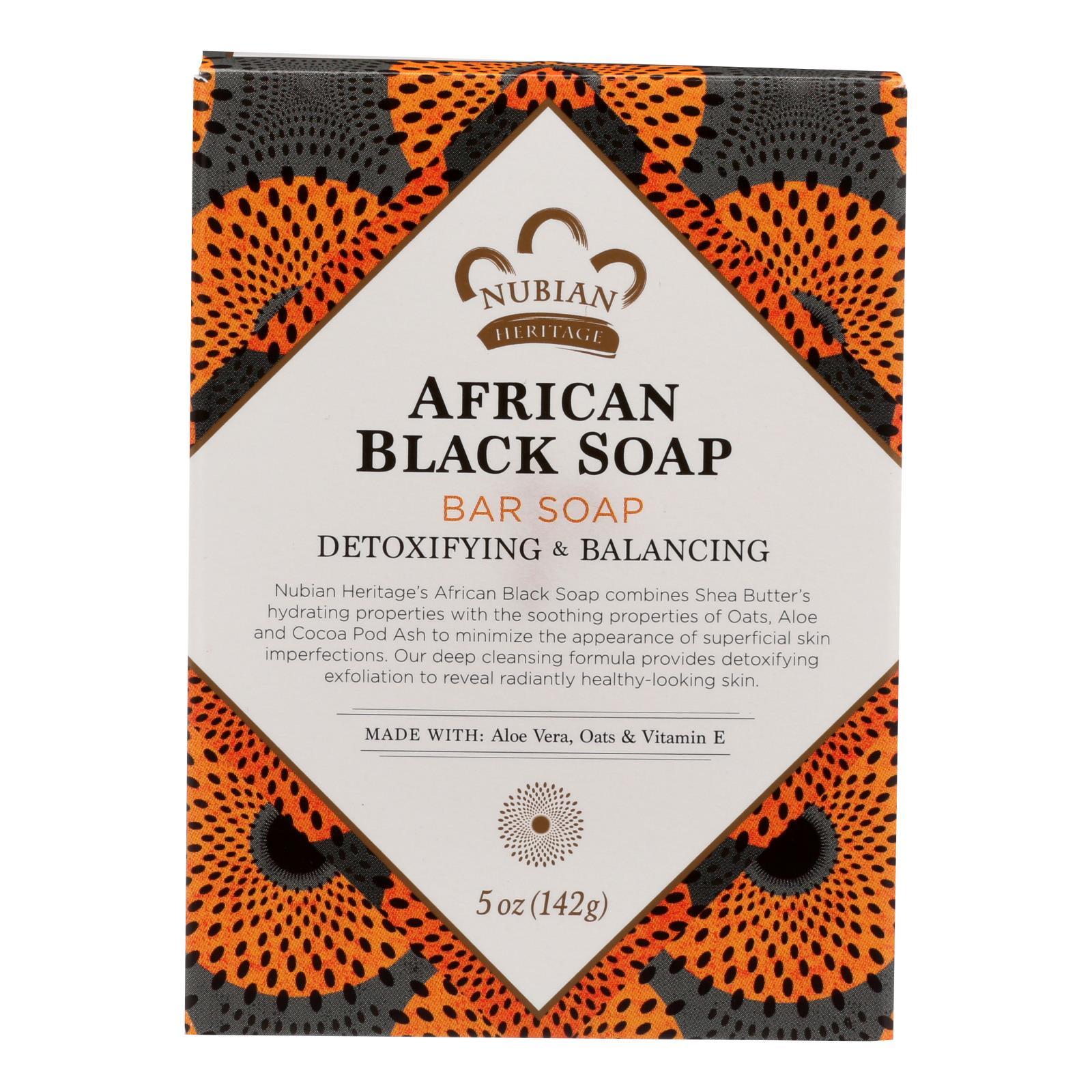 Nubian Heritage Bar Soap African Black - 5 oz