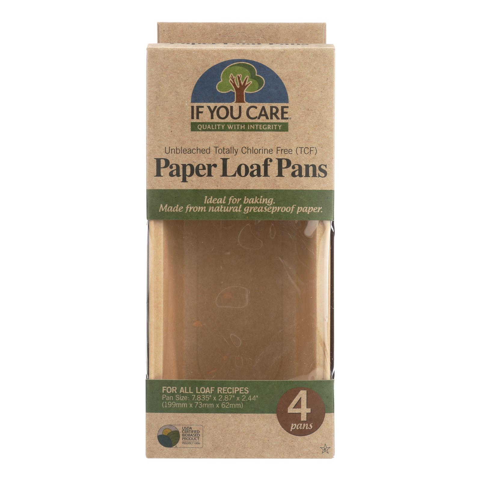 If You Care Loaf Baking Pans - Case of 6 - 4 Count