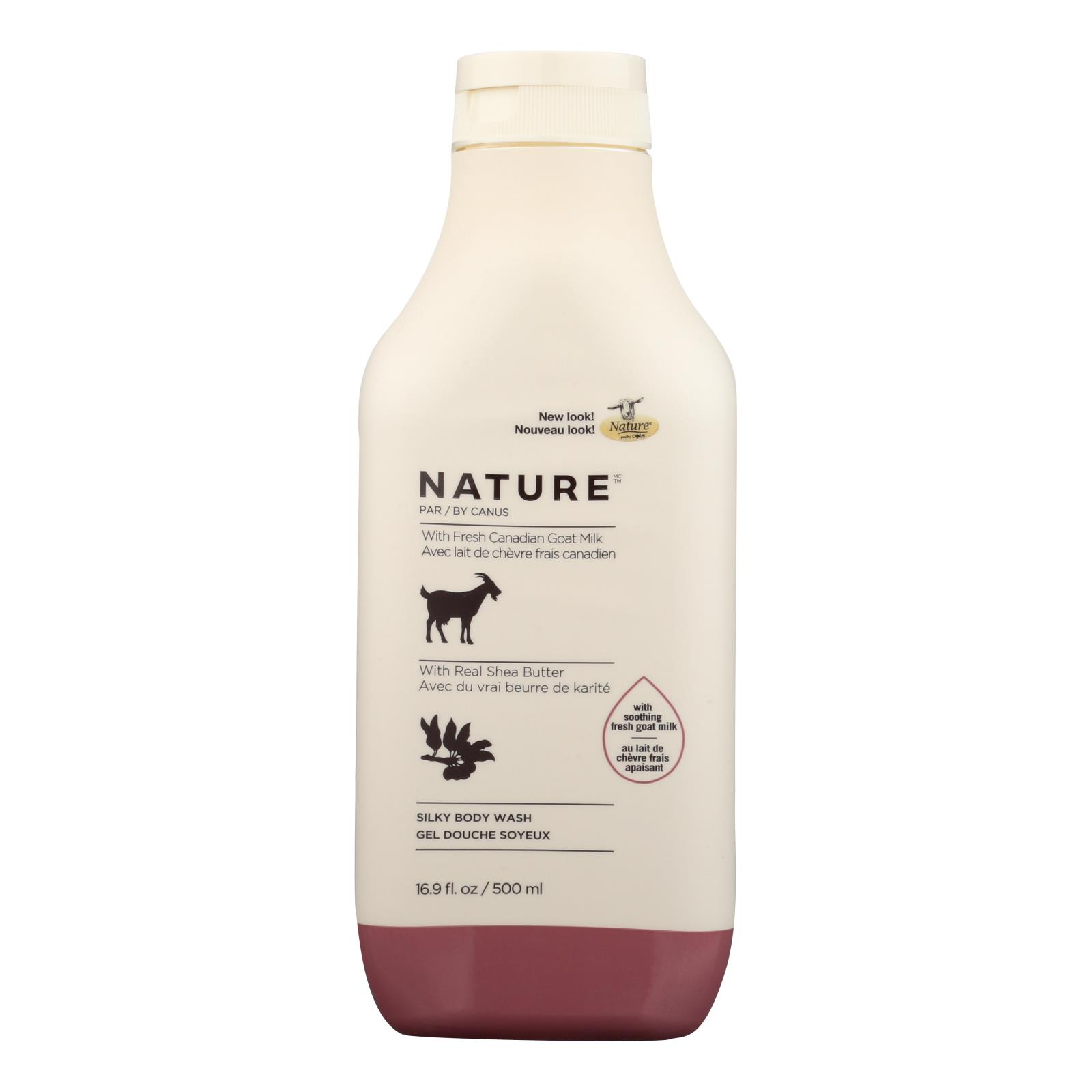 Nature By Canus - Nature Gt Milk Body Wh Shea - 1 Each - 16.9 OZ