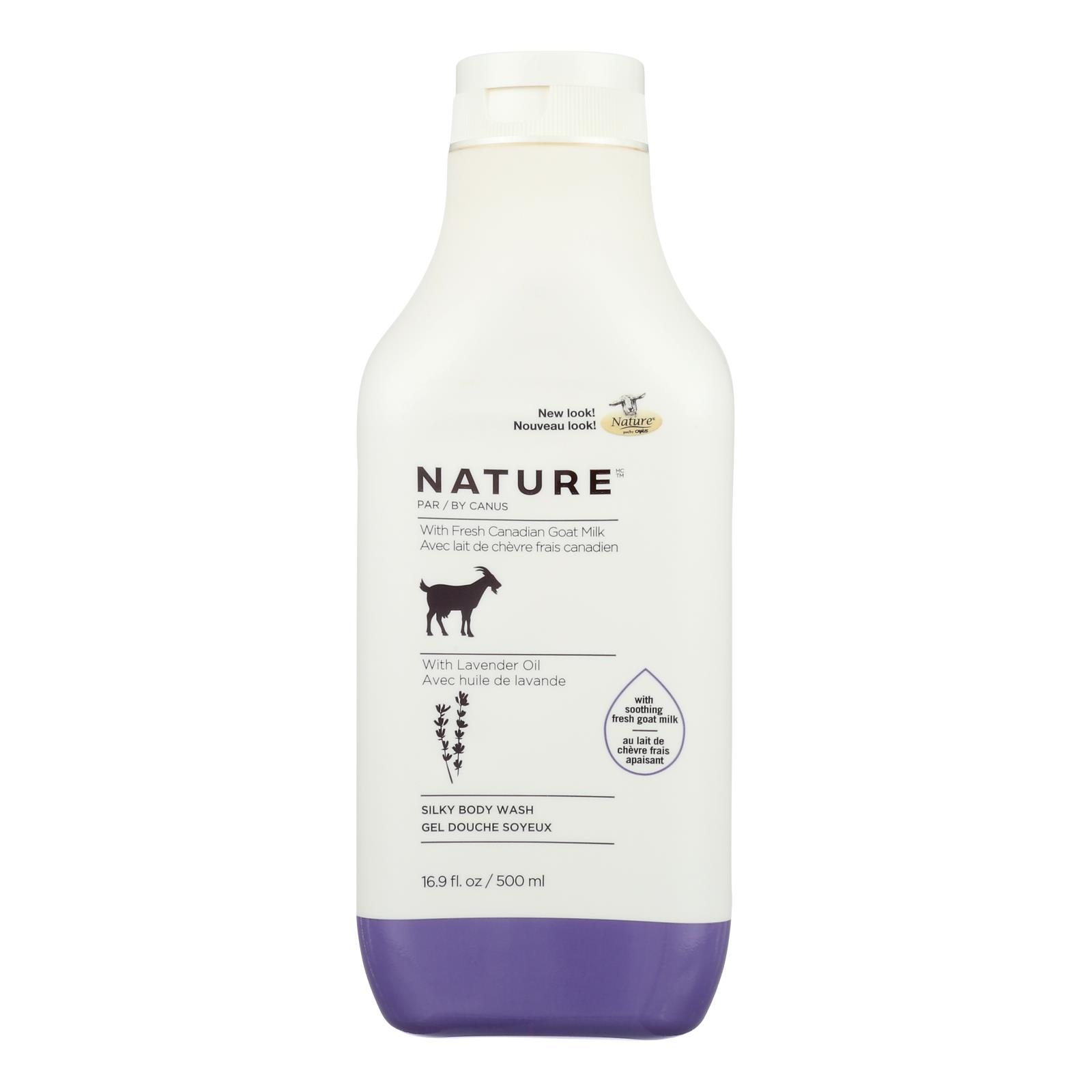 Nature By Canus - Nature Gt Milk Body Ws Shea - 1 Each - 16.9 FZ