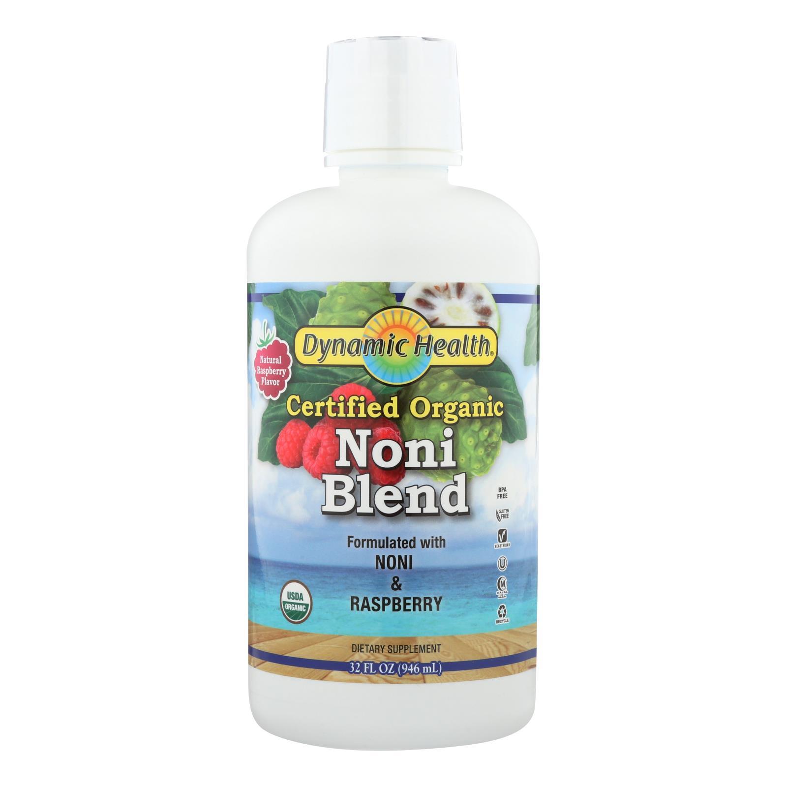 Dynamic Health Noni Juice from Tahiti Raspberry - 32 fl oz