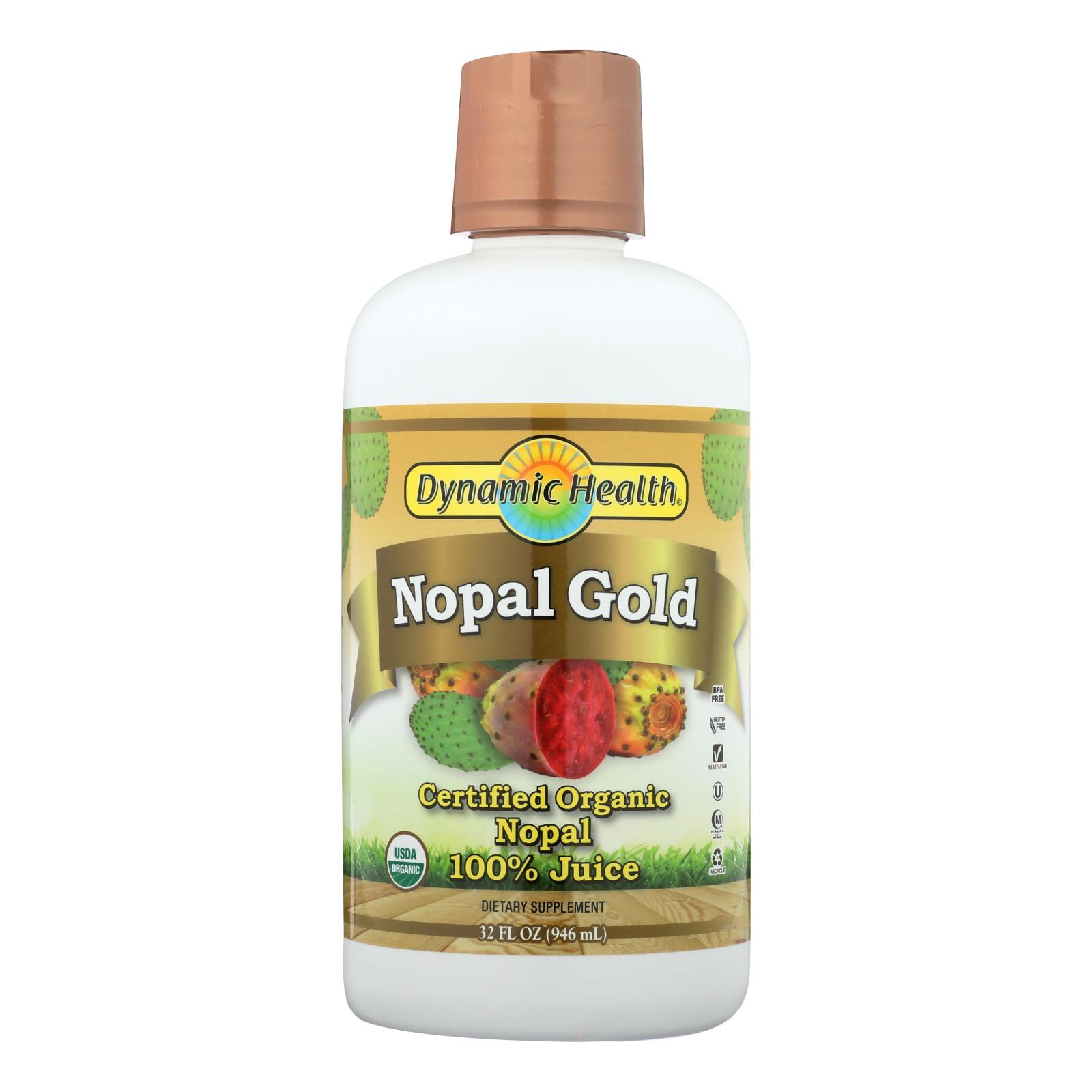 Dynamic Health Organic Certified Nopal Gold - 32 fl oz