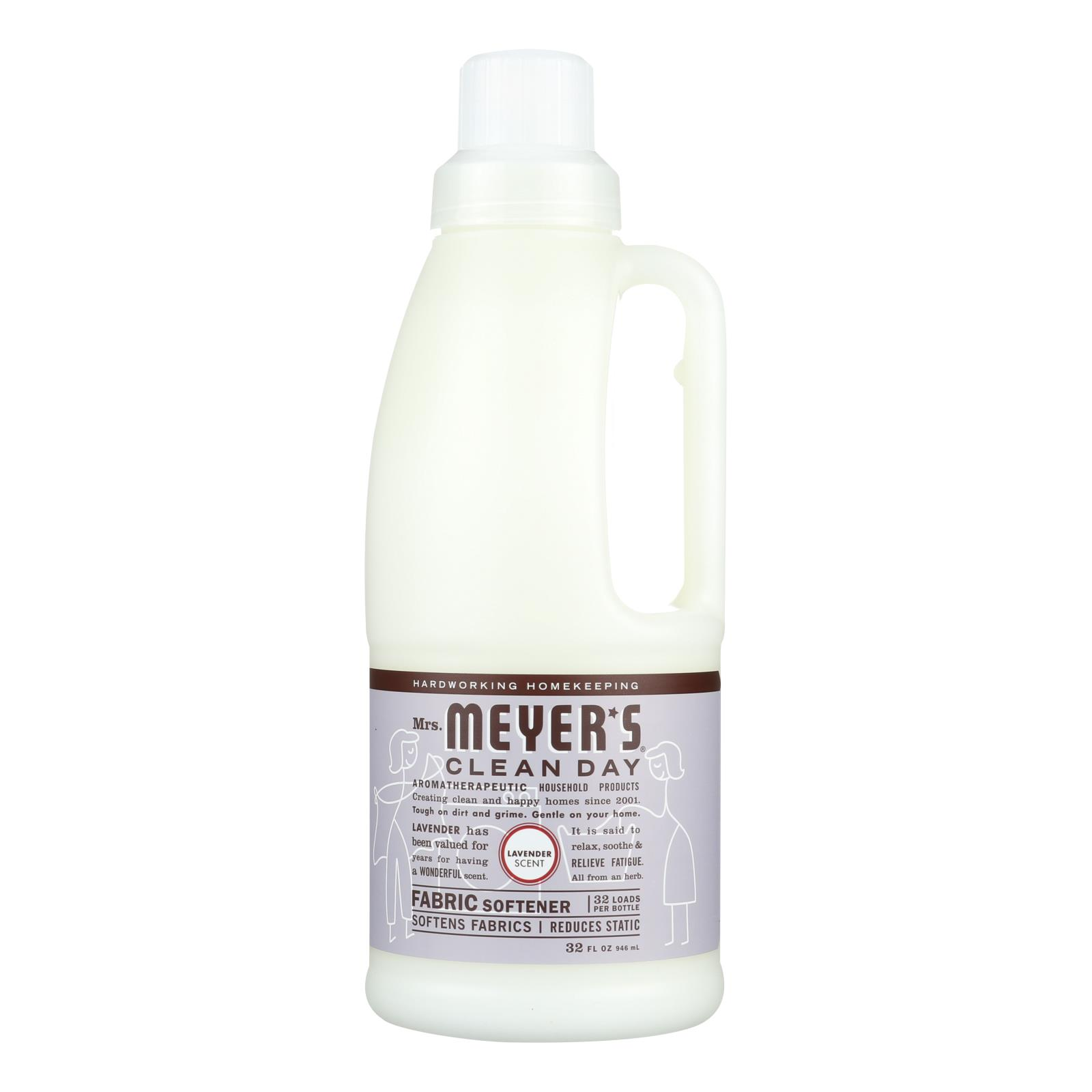 Mrs. Meyer's Clean Day - Fabric Softener - Lavender - Case of 6 - 32 oz