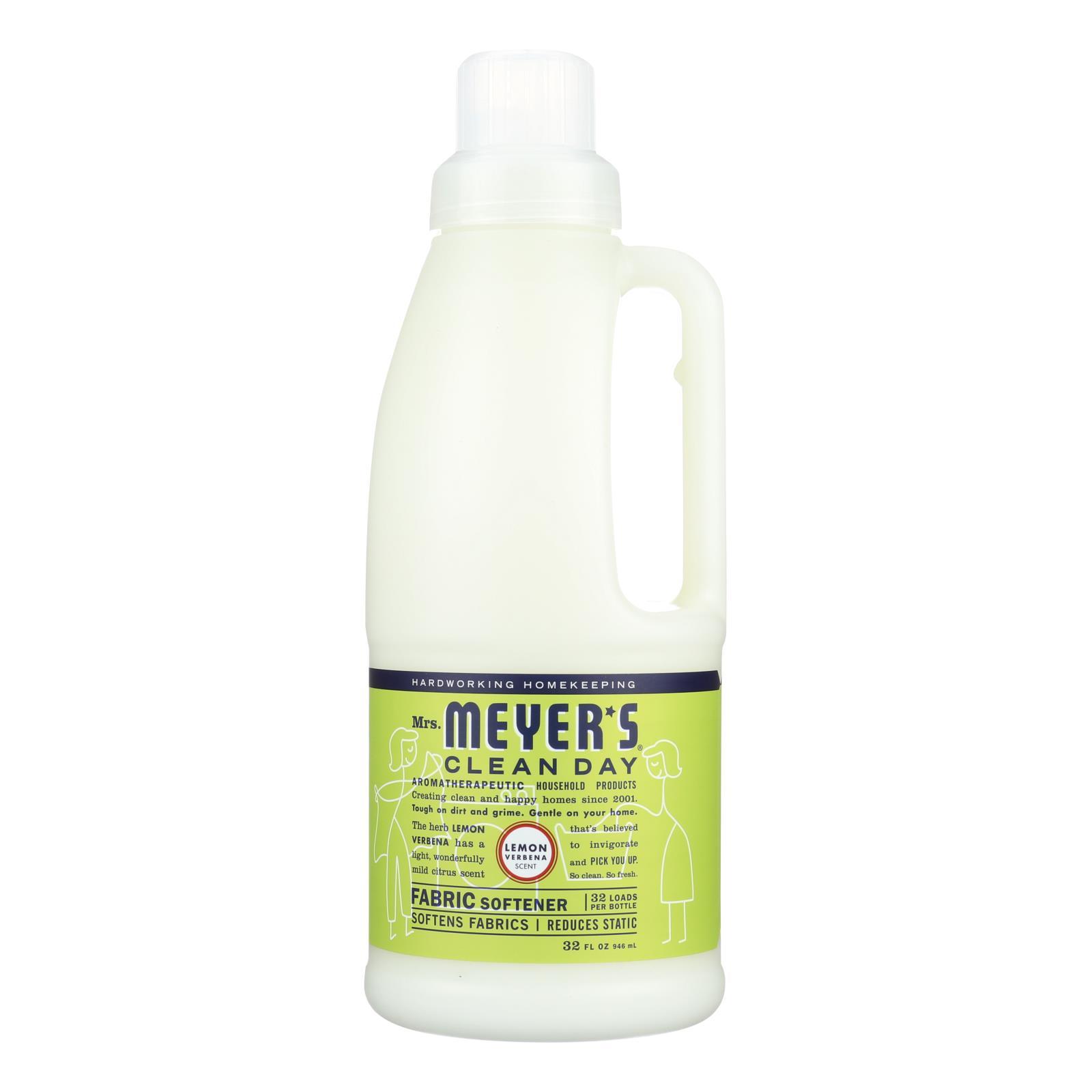 Mrs. Meyer's Clean Day - Fabric Softener - Lemon Verbena - Case of 6 - 32 oz