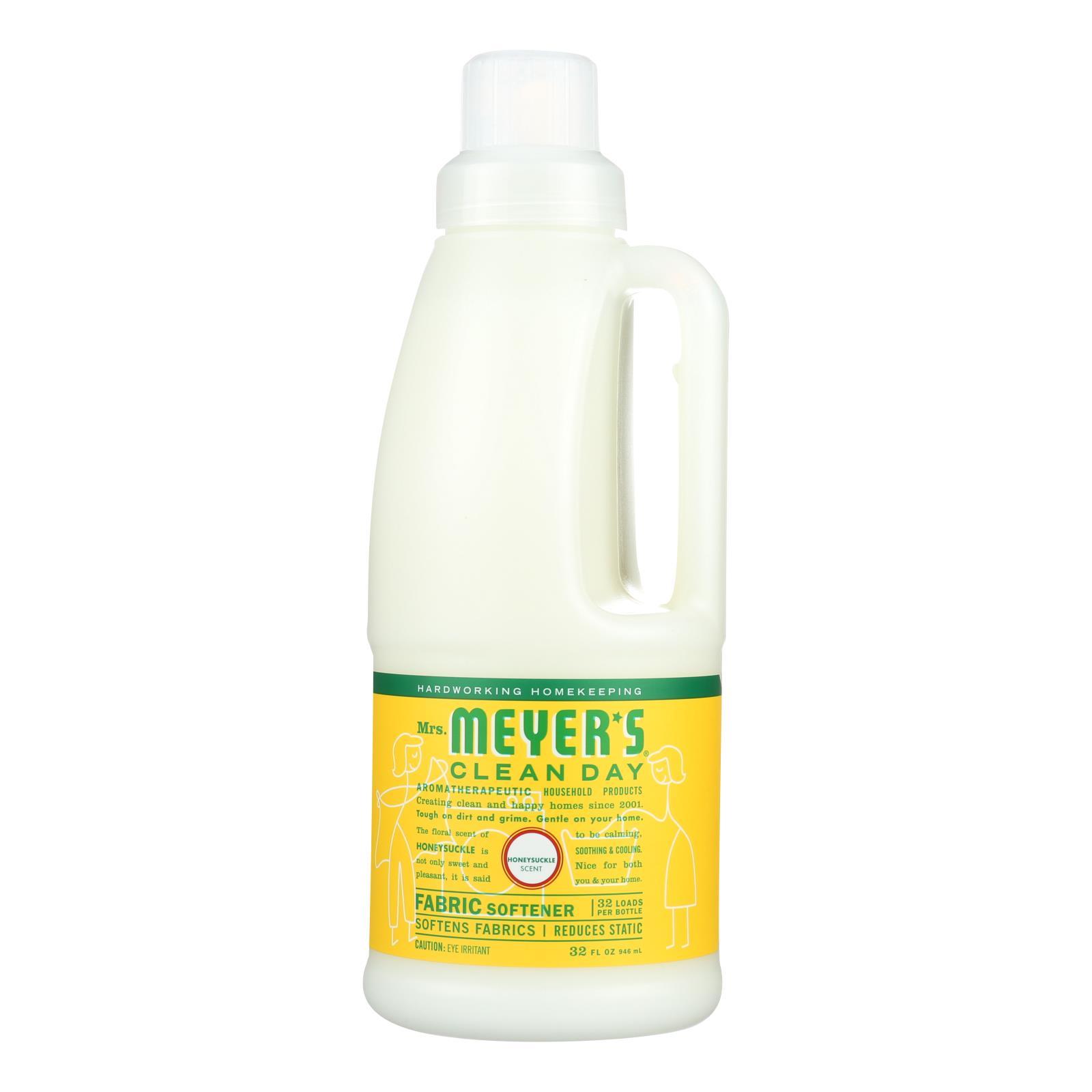 Mrs. Meyer's Clean Day - Fabric Softener - Honey - Case of 6 - 32 Fl oz.