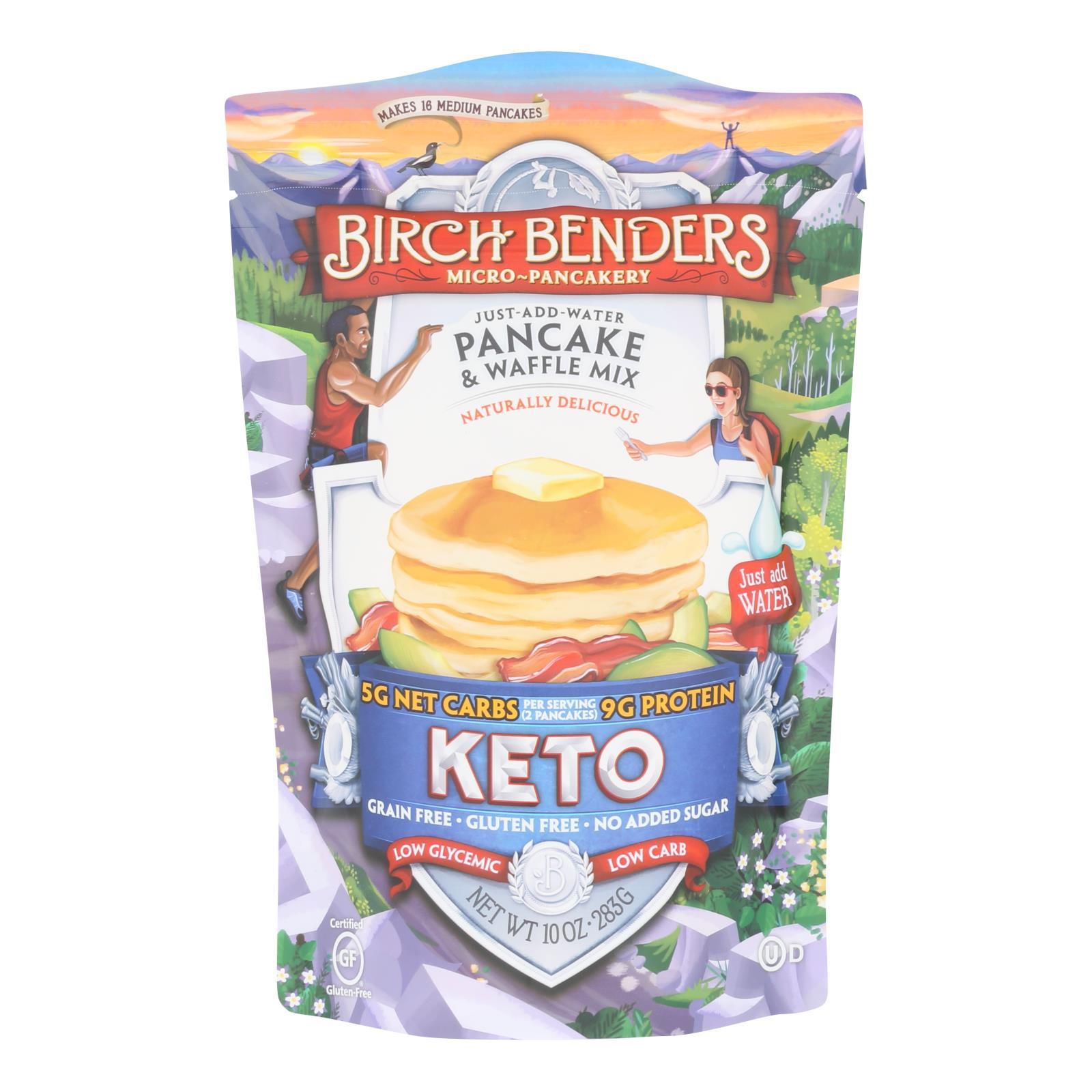 Birch Benders - Pancake&wffl Mix Keto - Case of 6 - 10 OZ