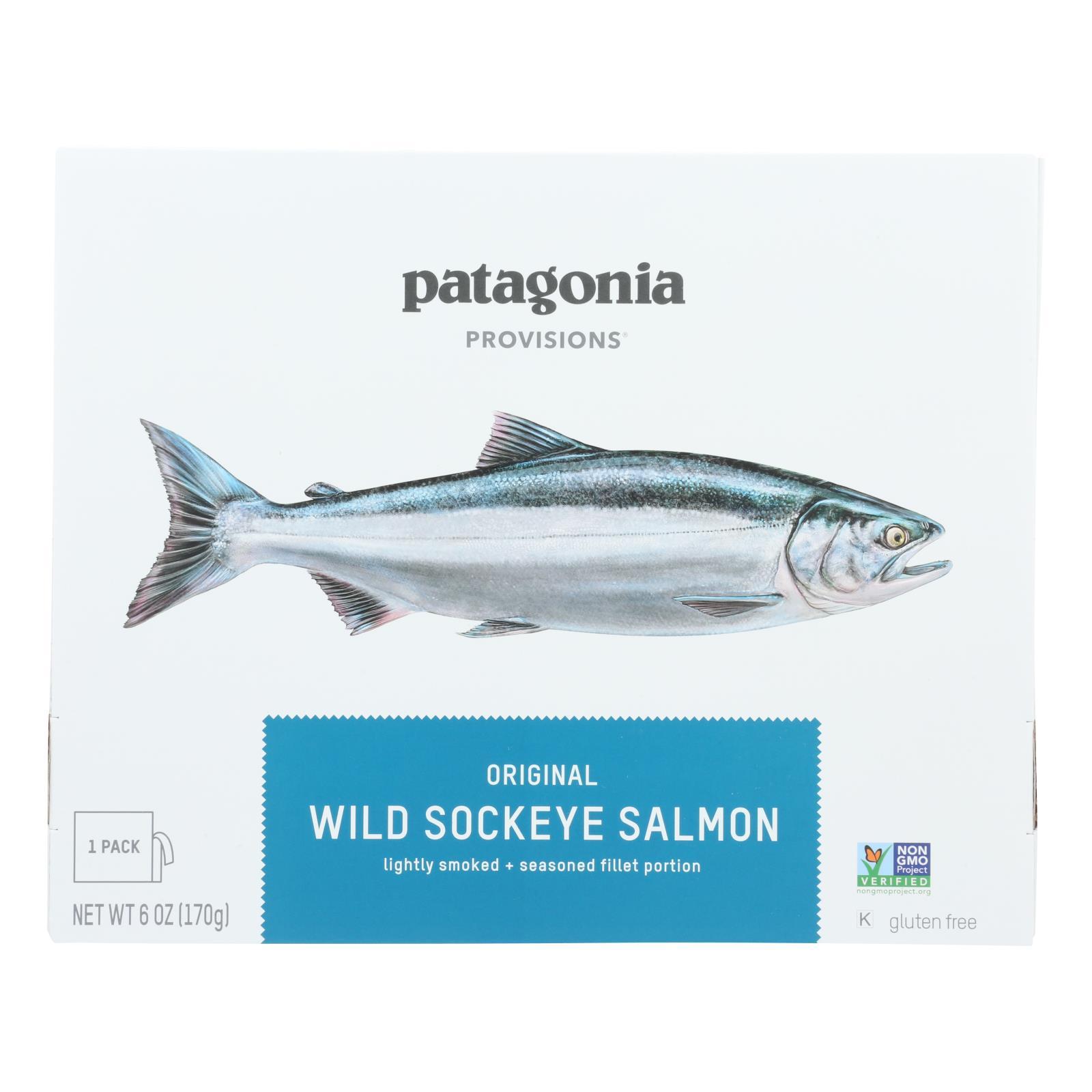 Patagonia - Salmon Wild Sockeye Orgnl - Case of 6-6 OZ