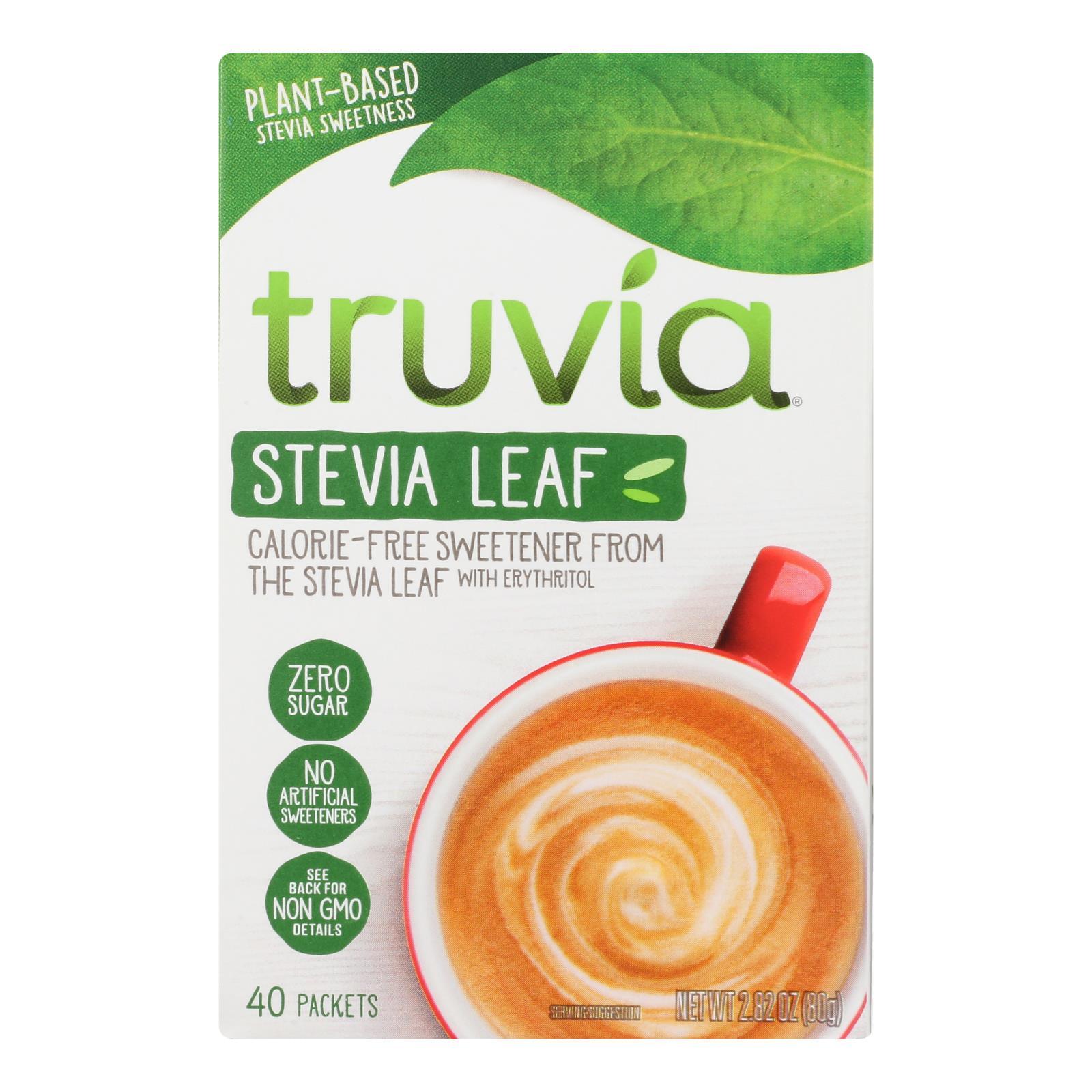 Truvia - Sweetener Natural - Case of 12 - 40 CT