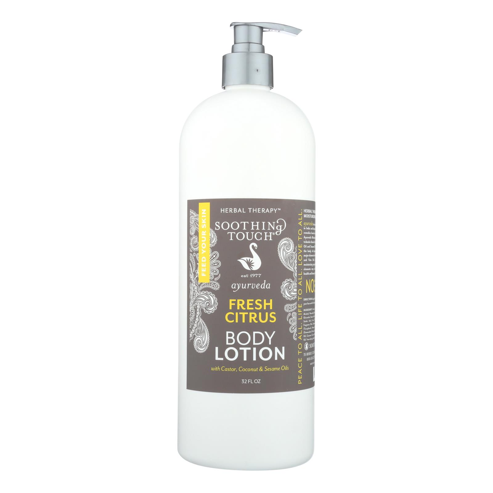 Soothing Touch - Fresh Citrus Body Lotion - 32 FZ