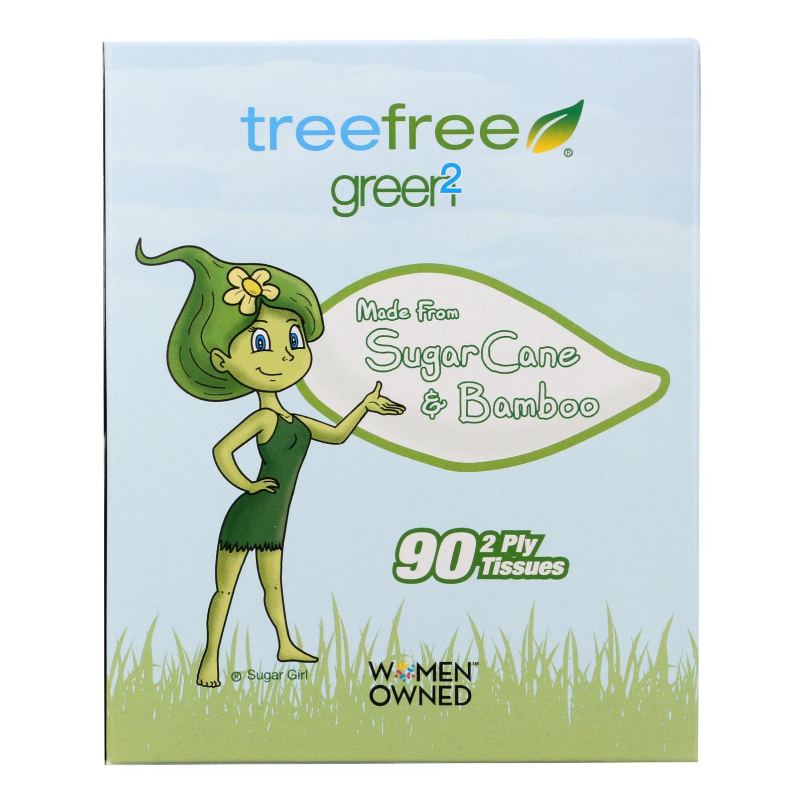 Green2 Facial Tissue - Case of 30