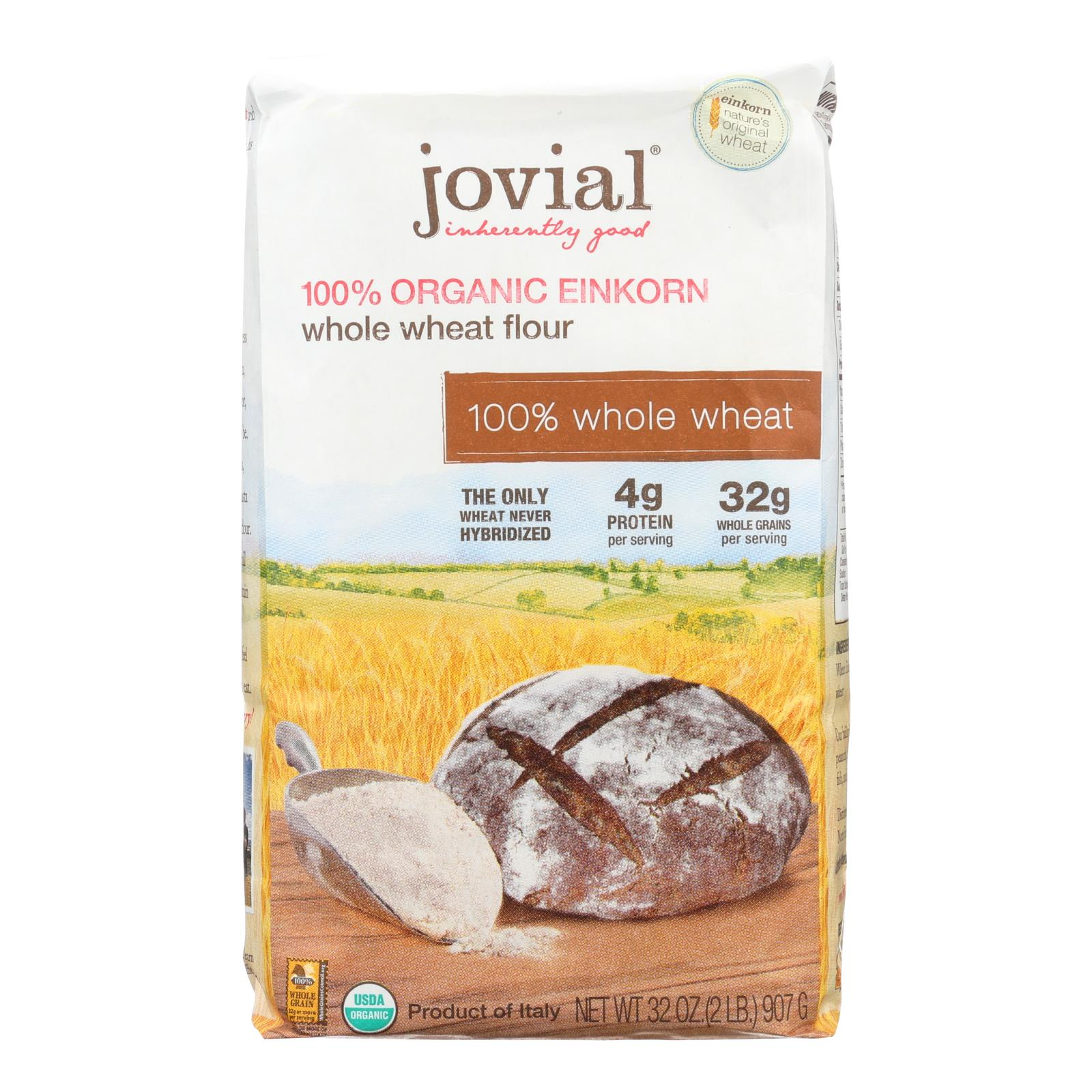 Jovial - Organic Einkorn Wheat Berries - Case of 10 - 32 oz.