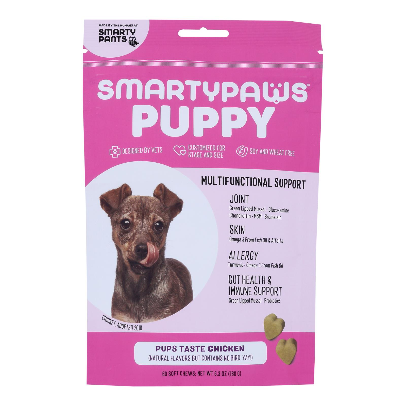 Smartypaws - Puppy Frmla Chicken - 1 Each - 60 CT