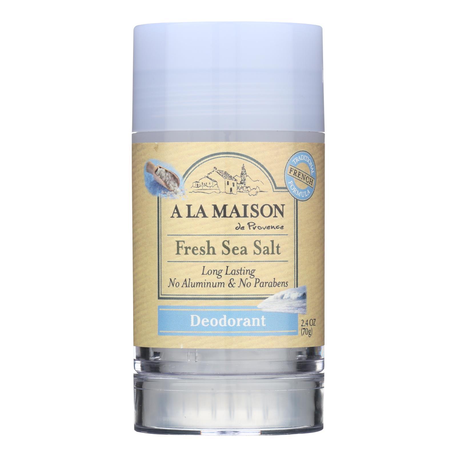 A La Maison - Deodorant - Fresh Sea Salt - 2.4 Oz