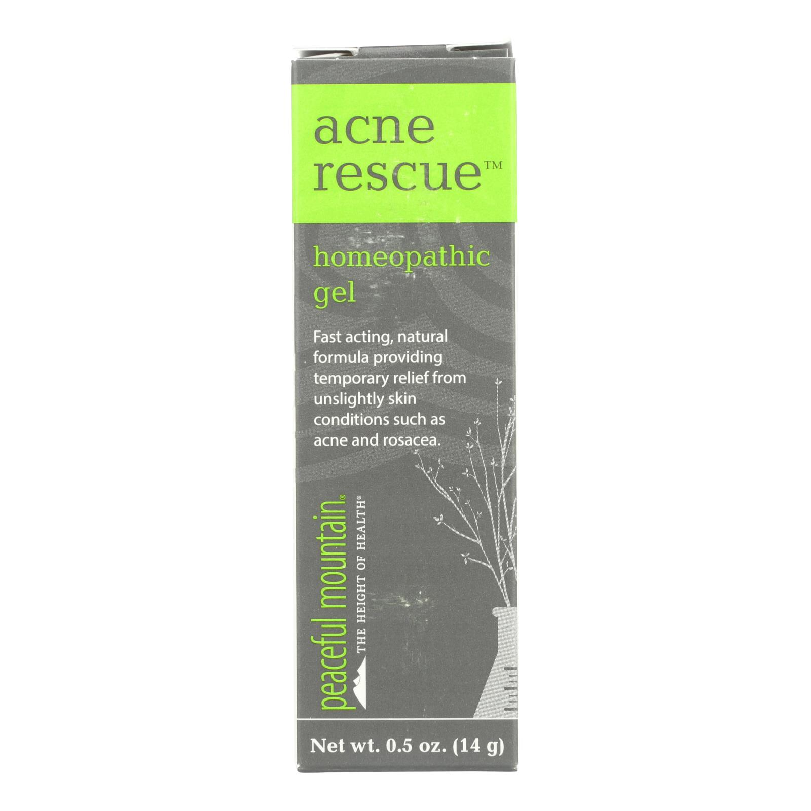 Peaceful Mountain Acne Rescue Lotion - .5 oz
