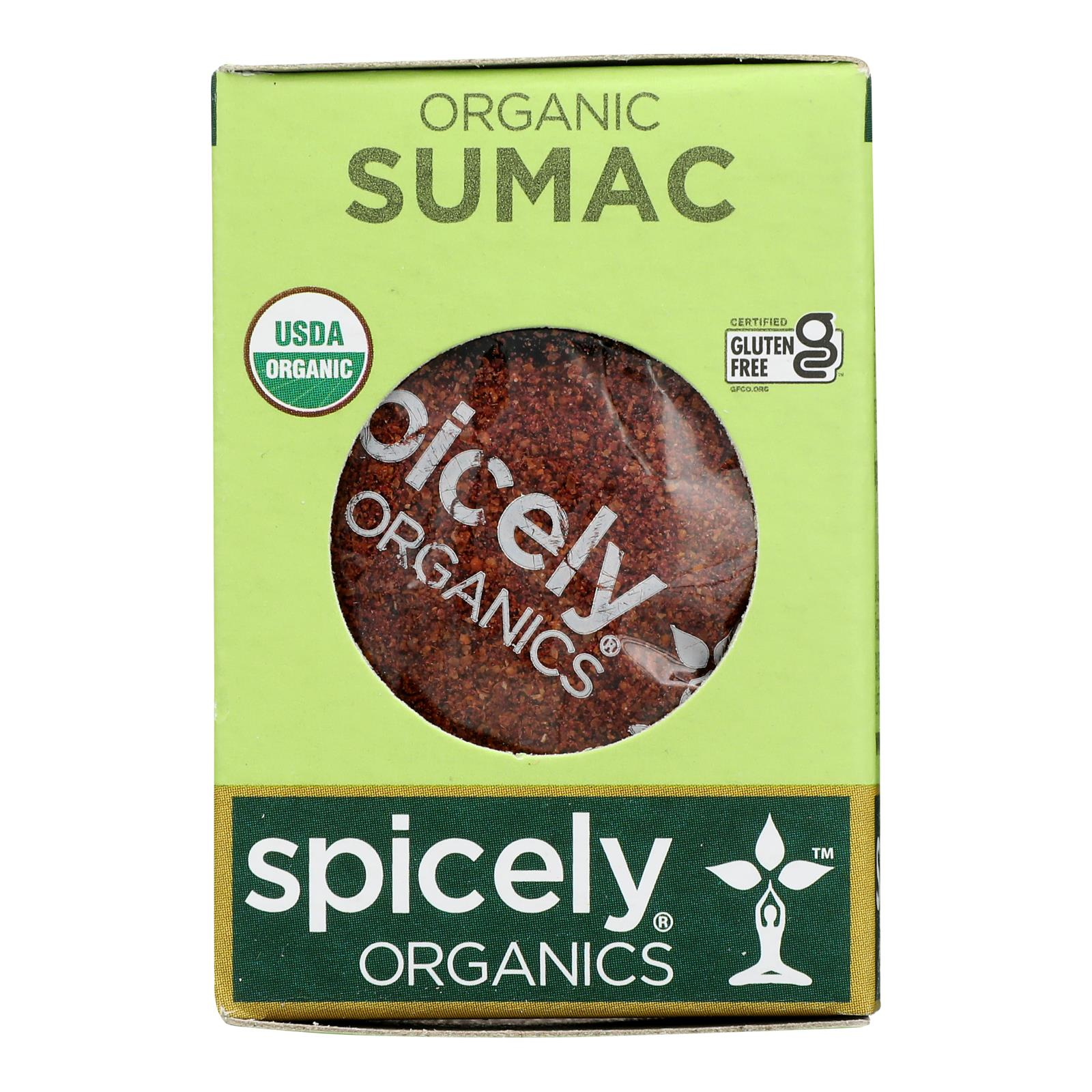 Spicely Organics - Organic Sumac - Case of 6 - 0.45 oz.